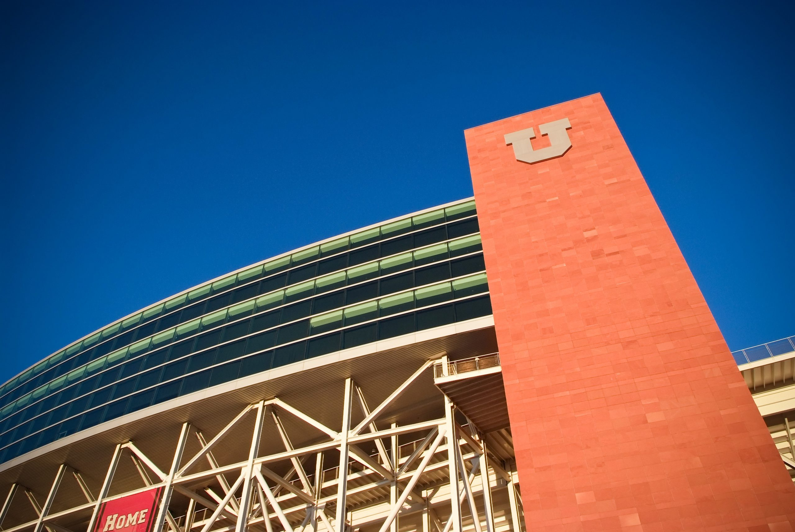 The Tower at Rice-Eccles Stadium, home of the Utah Utes and site of the 2002 Winter Olympics opening and closing ceremonies