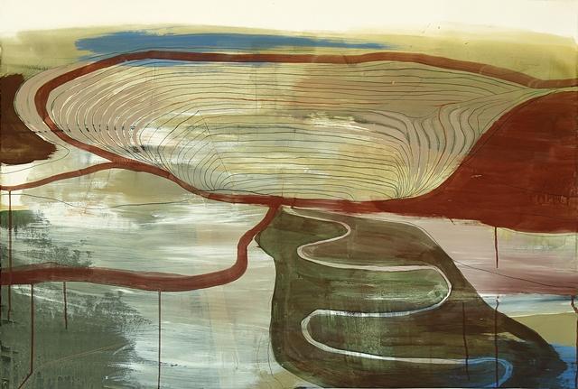 Jean Arnold (American, b. 1961), Kennecott: Big Pit, 2012. Oil on canvas. ©Jean Arnold.