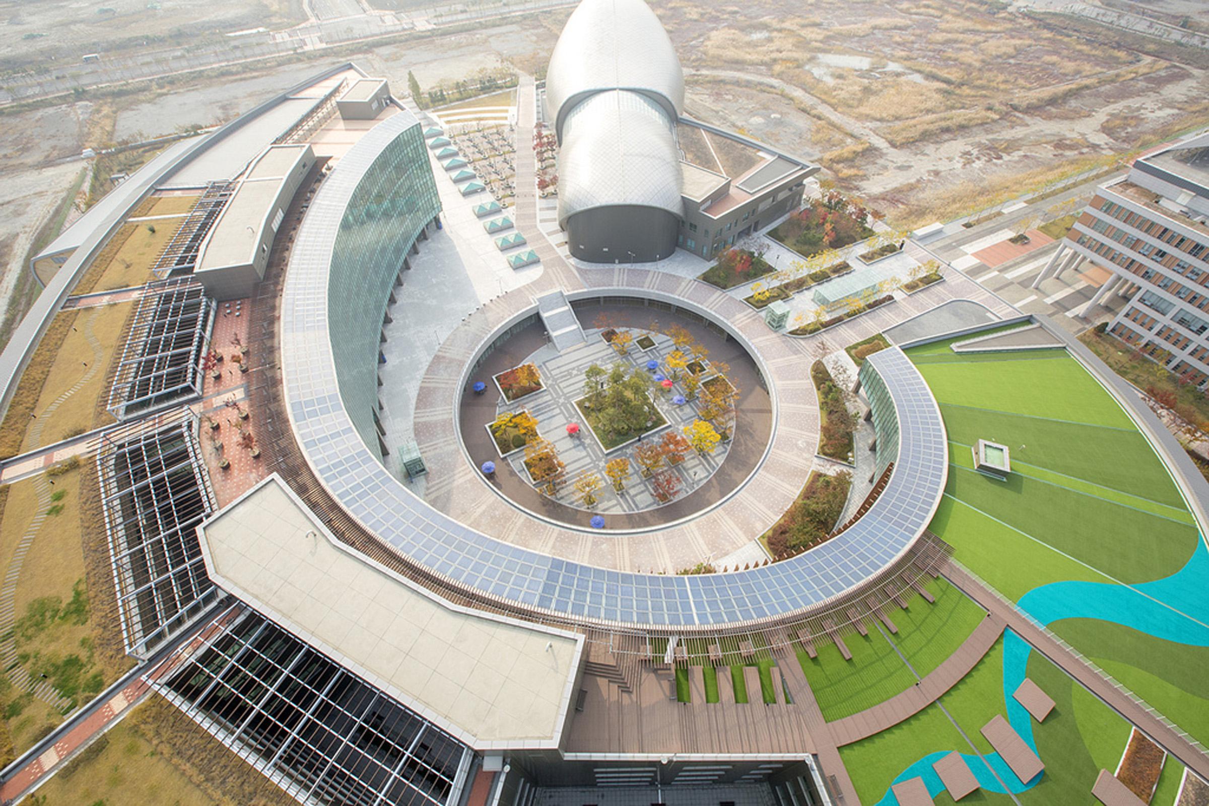 Songdo Campus in South Korea.