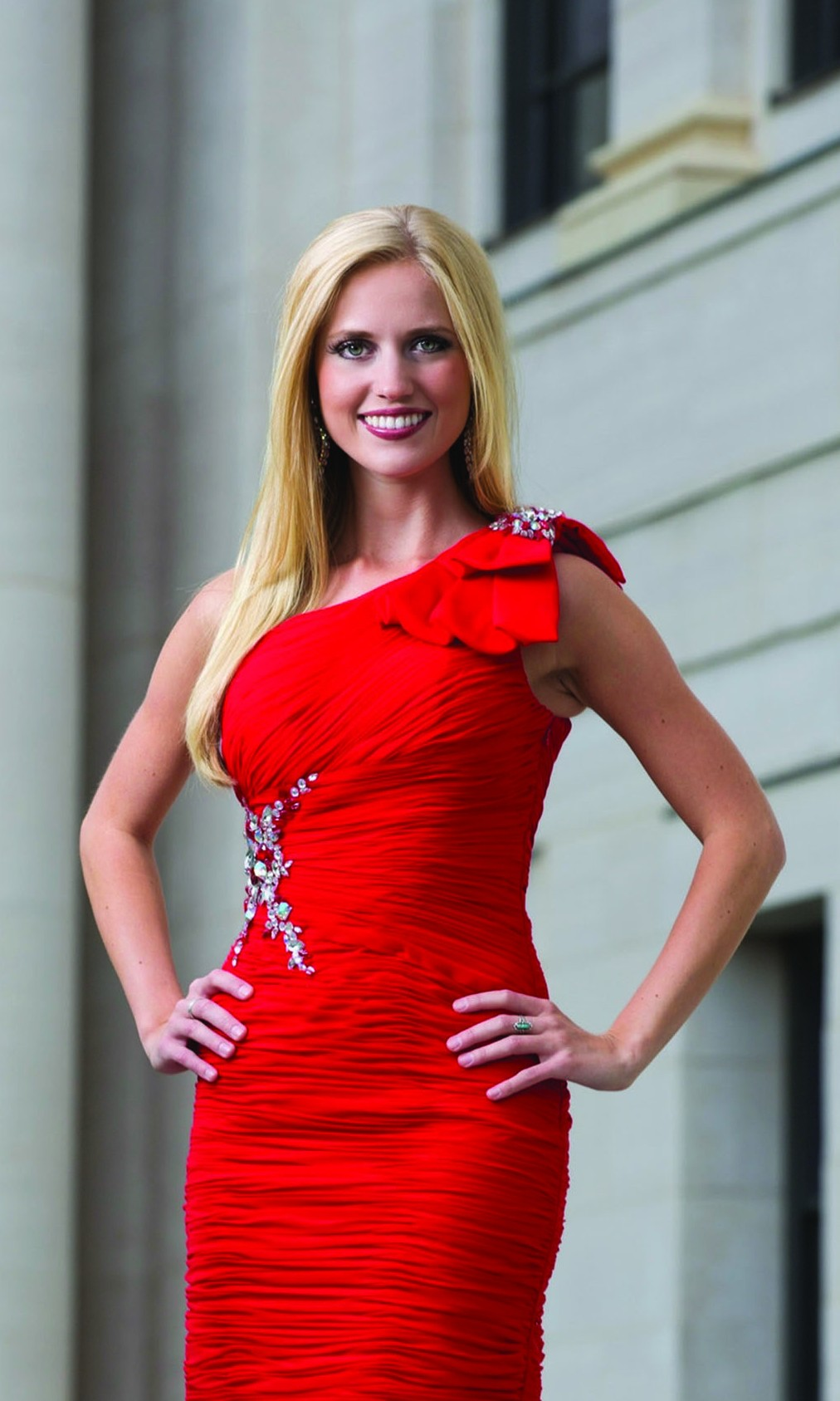Miss Utah Kara Arnold, a University of Utah graduate with a degree in chemistry, hopes to become the next Miss America.