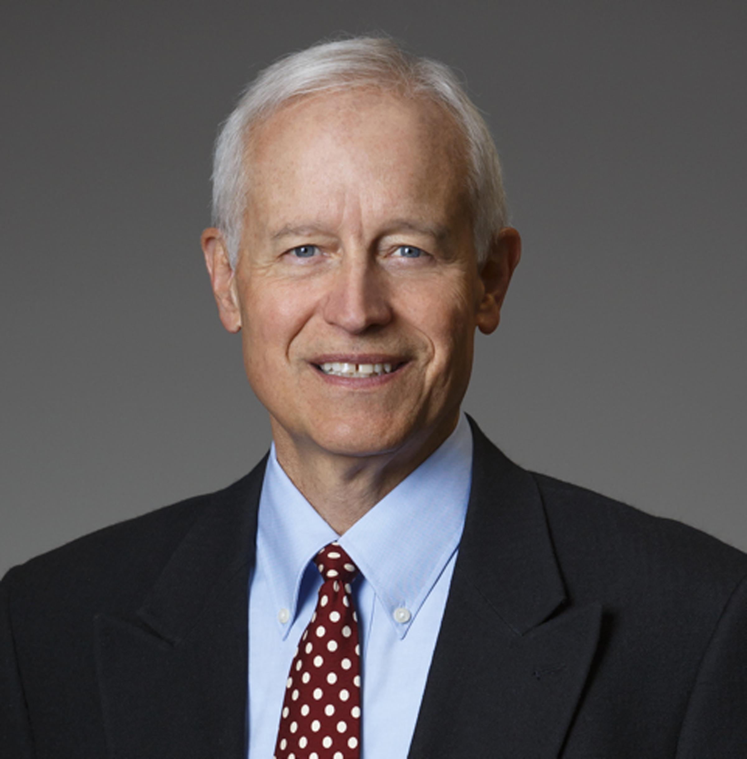Dr. Randall J. Olson, winner of the 2014 Rosenblatt Prize, awarded at the University of Utah Commencement Exercises, May 1, 2014.