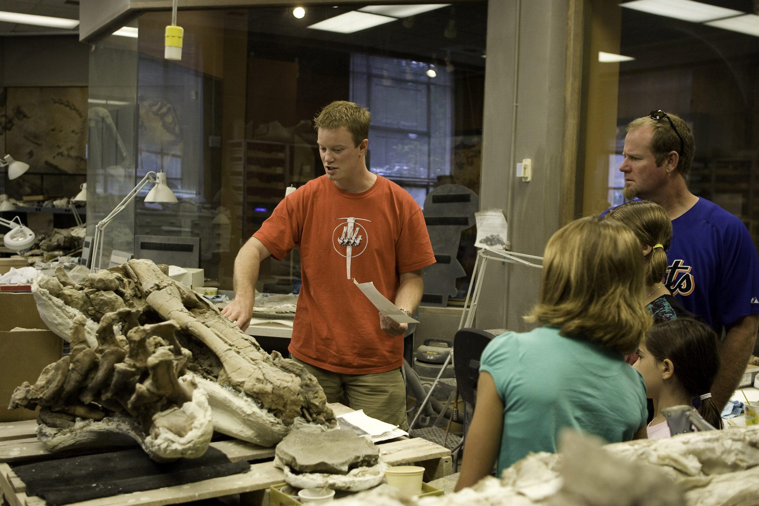 Behind the Scenes at the Natural History Museum of Utah.