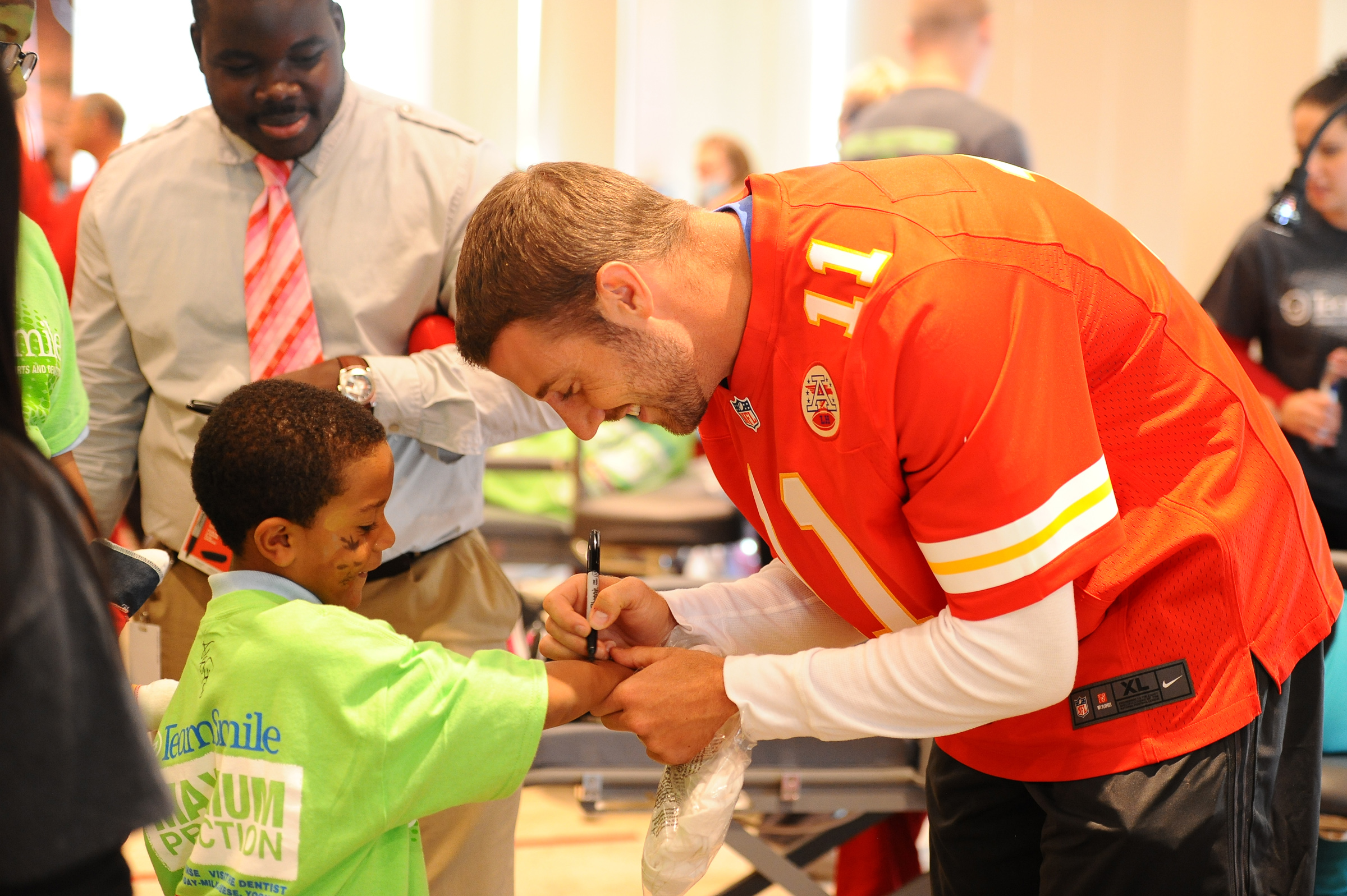 University of Utah alum Alex Smith, quarterback for the Kansas City Chiefs, is a leader on and off the field. Smith will give the 2014 commencement address at the U on May 1, 2014.