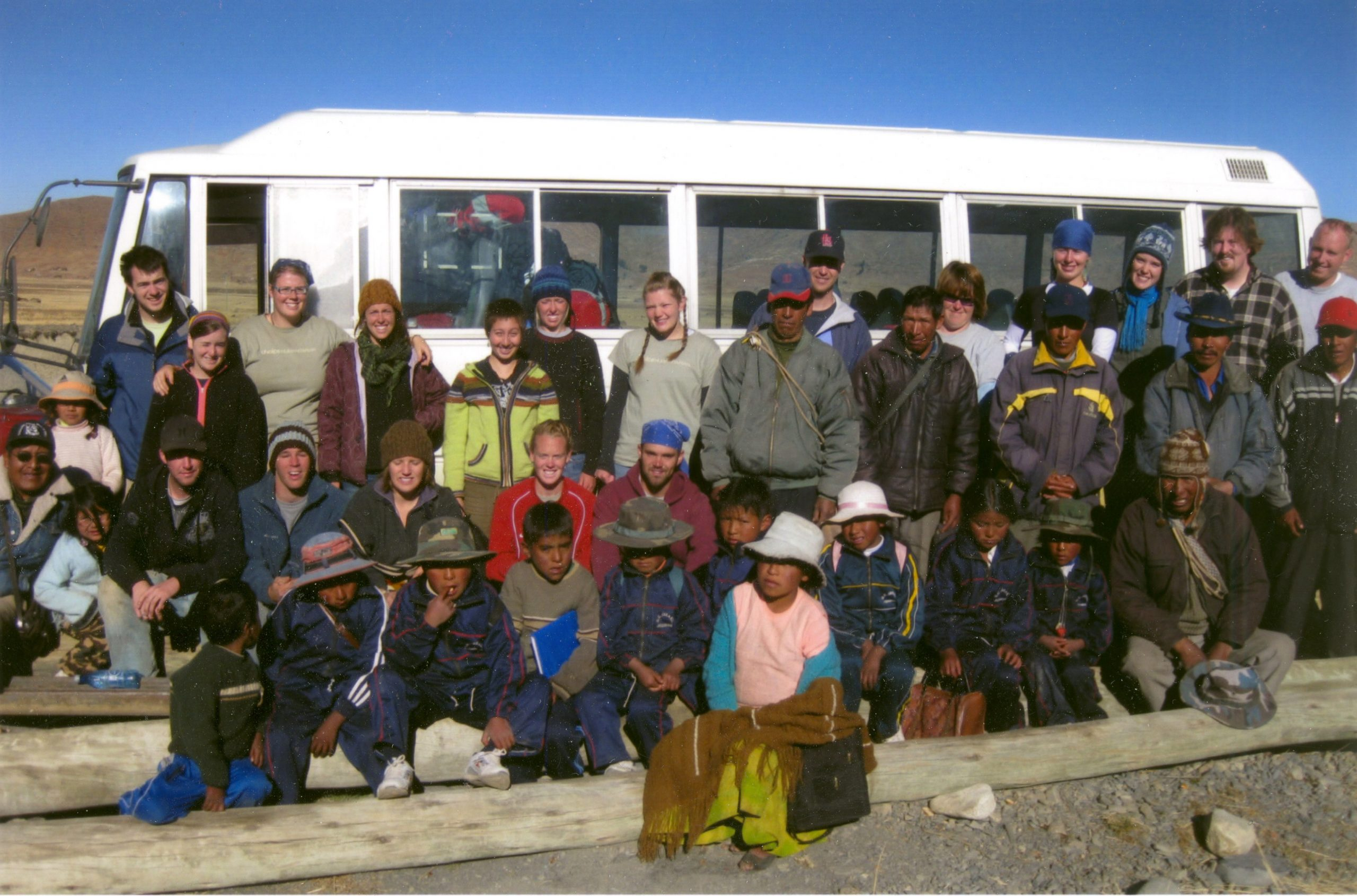 Twelve Bennion Center volunteers learned about service in the high-lying Bolivian village of Suriquina.