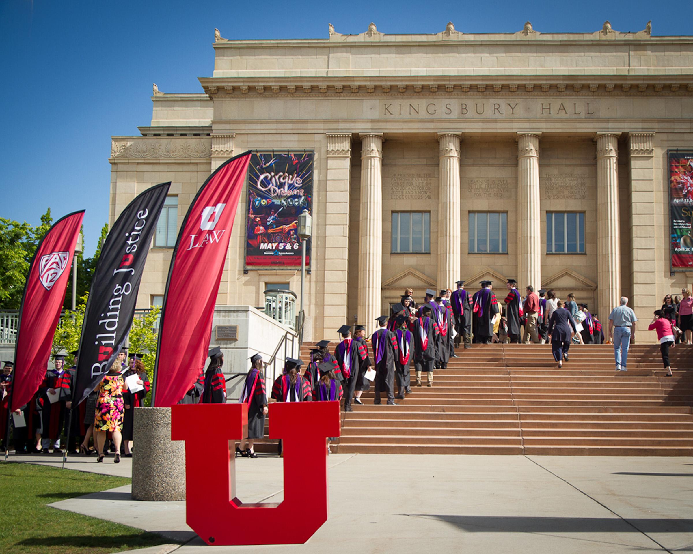S.J. Quinney College of Law graduates.