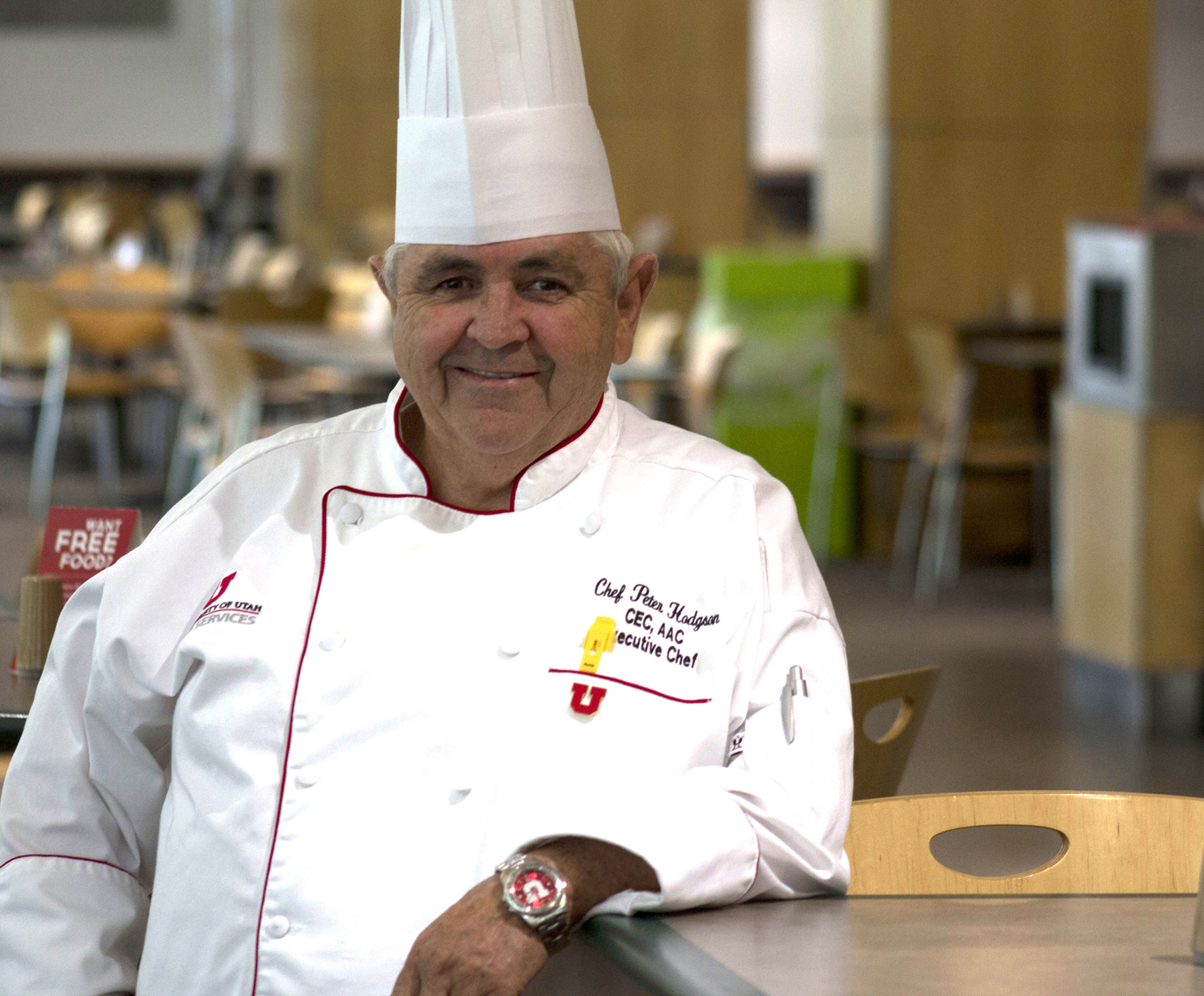 University of Utah Executive Chef Peter Hodgson