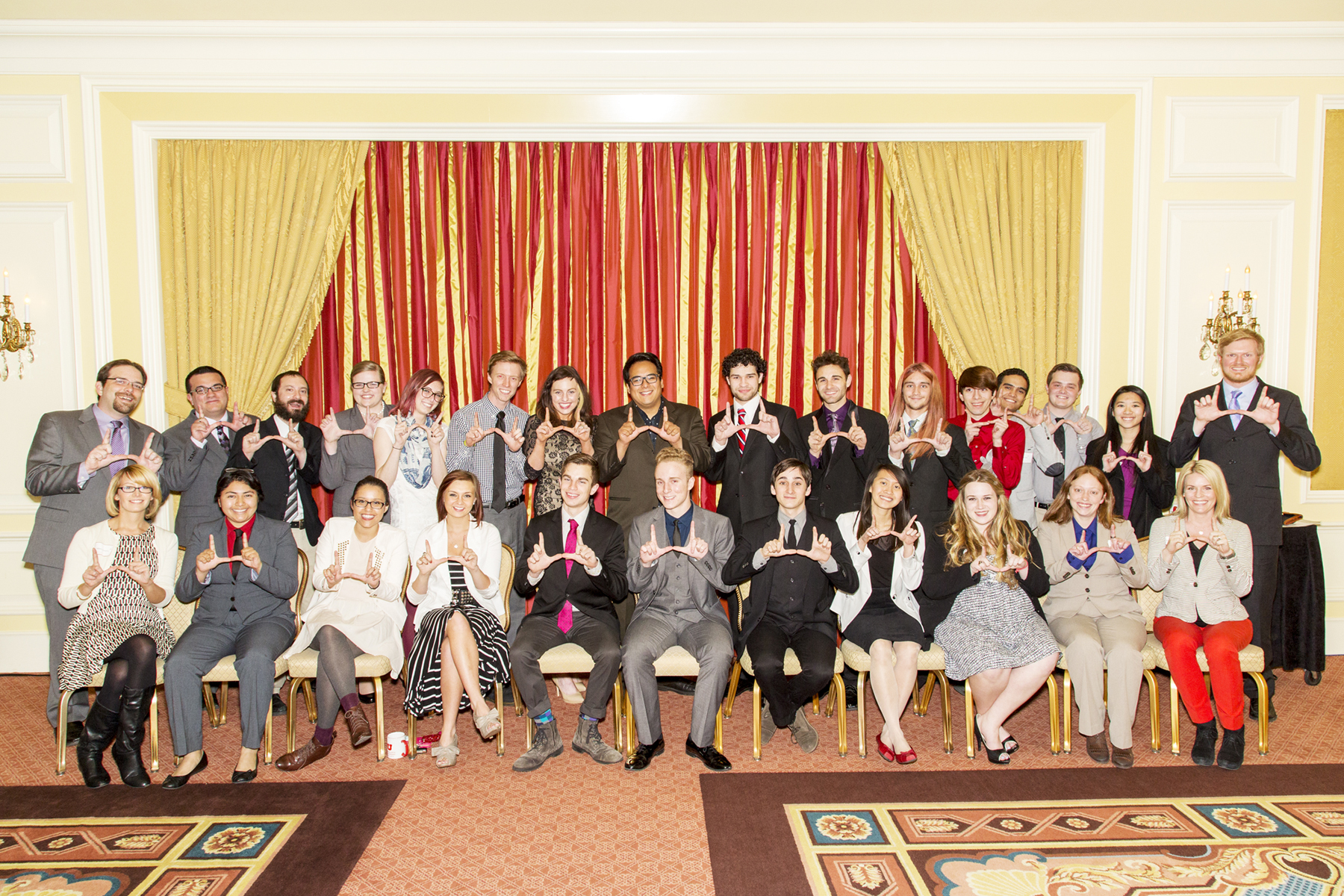 The U's John R. Park Debate Society was celebrated April 6 at the Department of Communication's annual awards banquet.