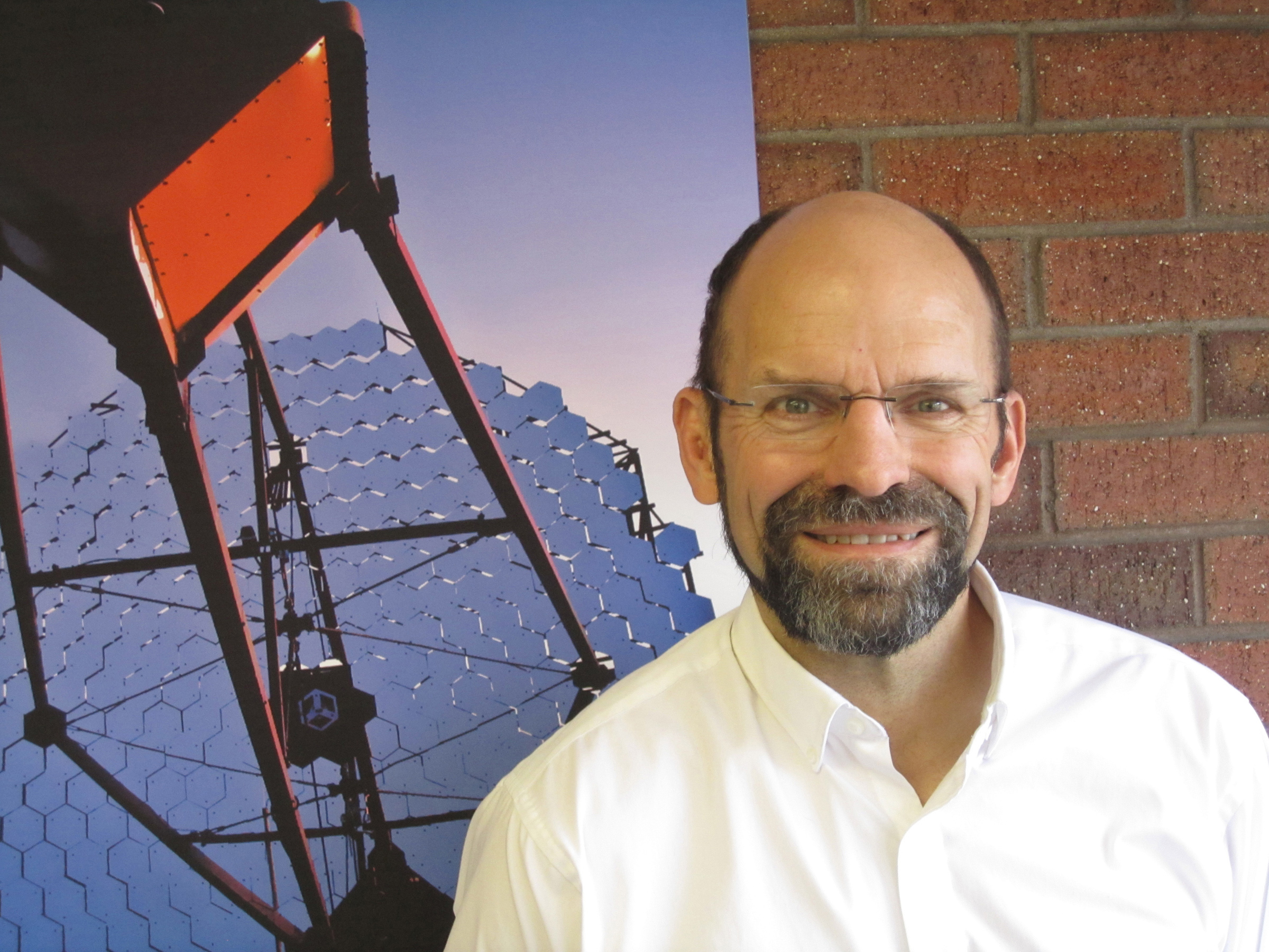 David Kieda, professor of physics and astronomy.