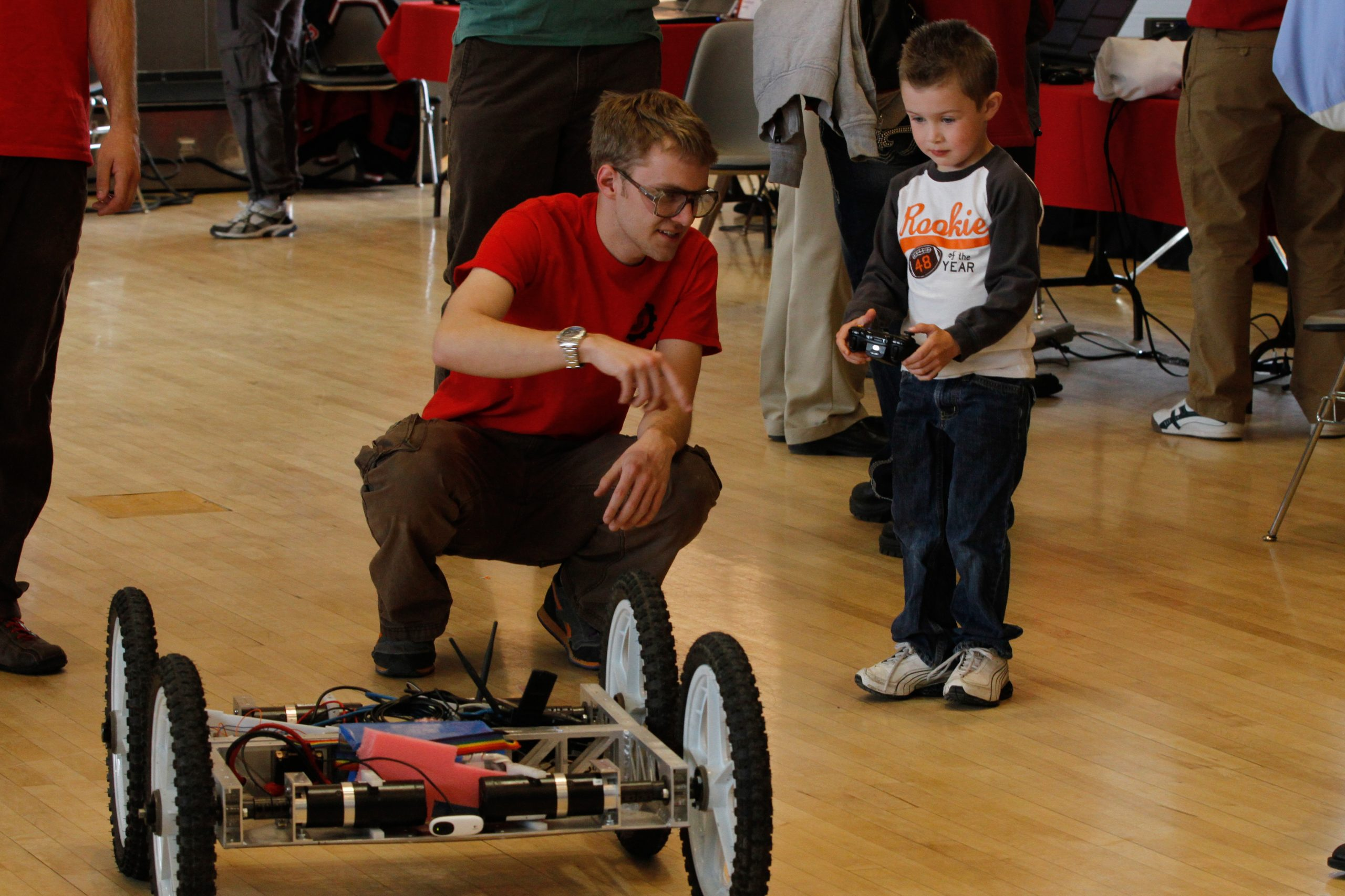 University of Utah mechanical engineering students will be showing off their senior projects during the department's annual Design Day 2015, which will be held Thursday, April 23, 2015, at the University of Utah's Student Union.