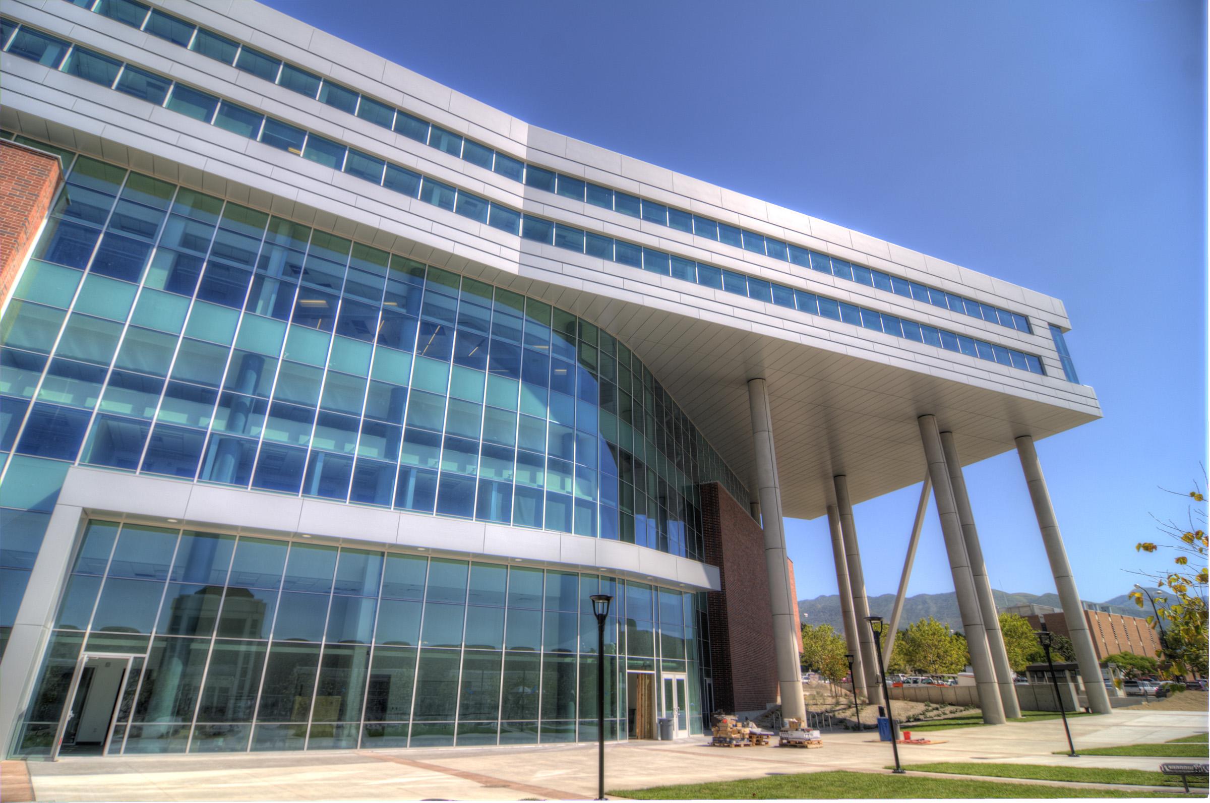 The University of Utah's new Spencer Fox Eccles Business Building.