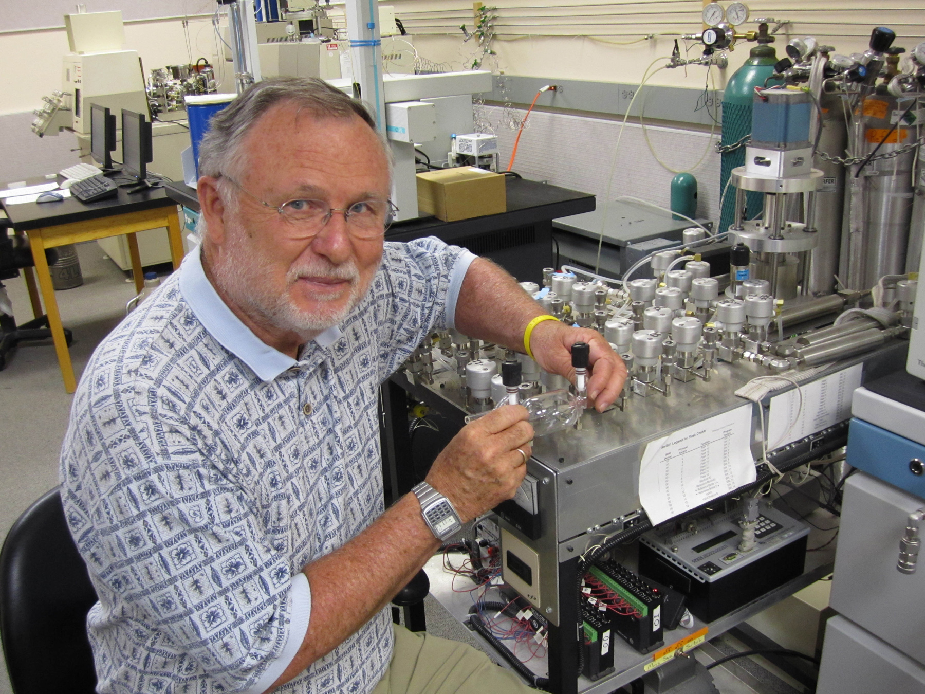 University of Utah biologist Jim Ehleringer and colleagues at Harvard developed a new method to estimate carbon dioxide emissions and thus verify compliance with a greenhouse gas treaty – if the nations of the world ever agree to limit emissions of the climate-warming gas.