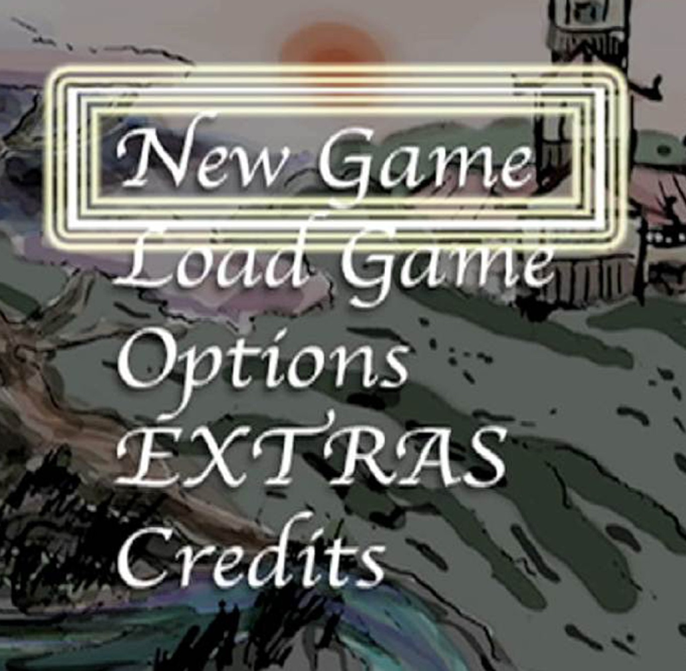 Screen shot of games developed by EAE undergraduates.