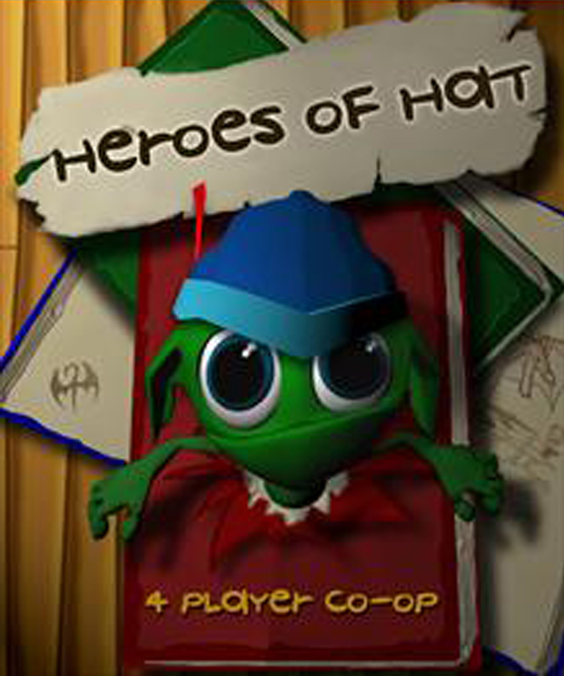 """""""Heroes of Hat,"""" the first game produced by students in the EAE program at the University of Utah."""