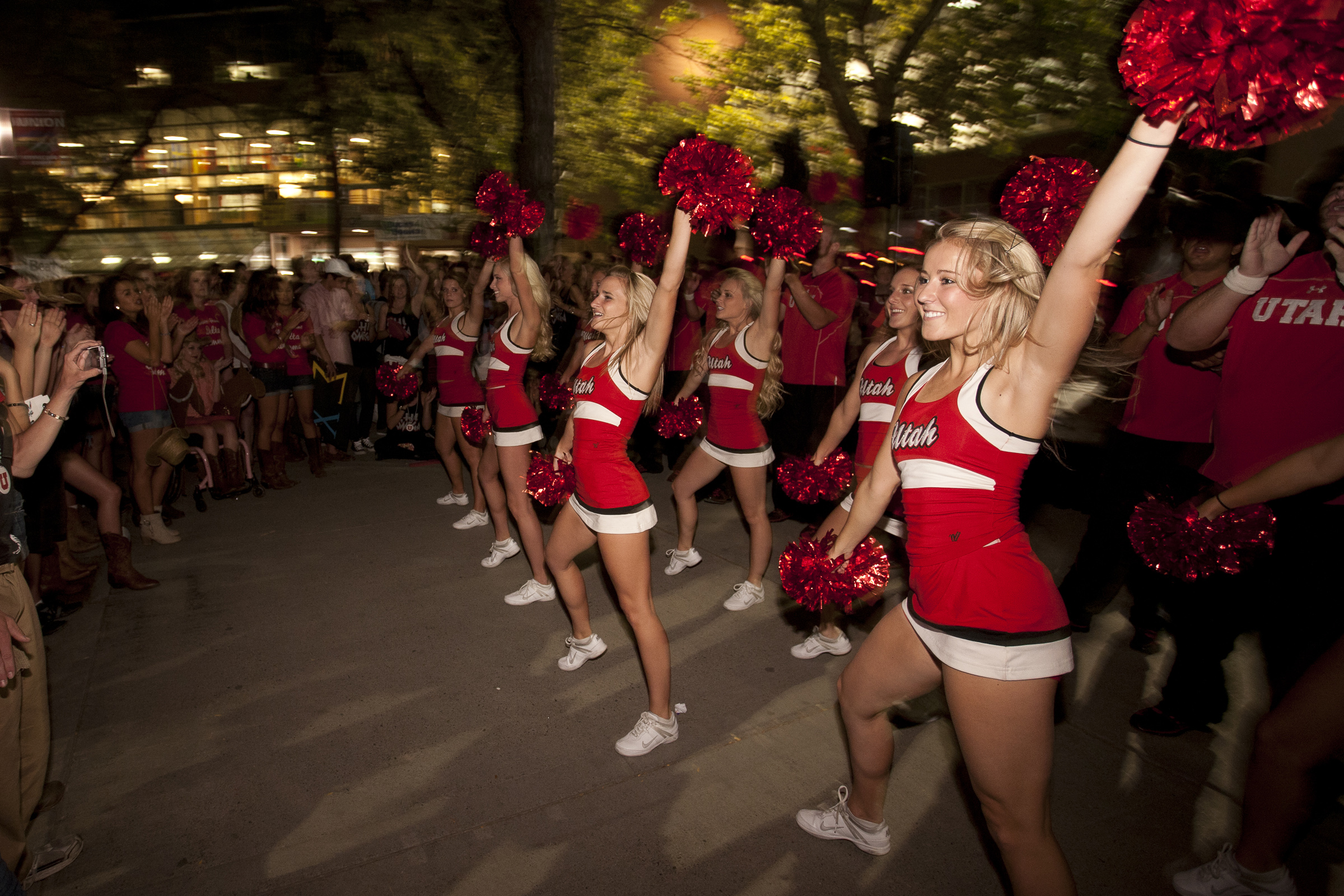 Scenes from Homecoming 2012 - Crimson Rally.
