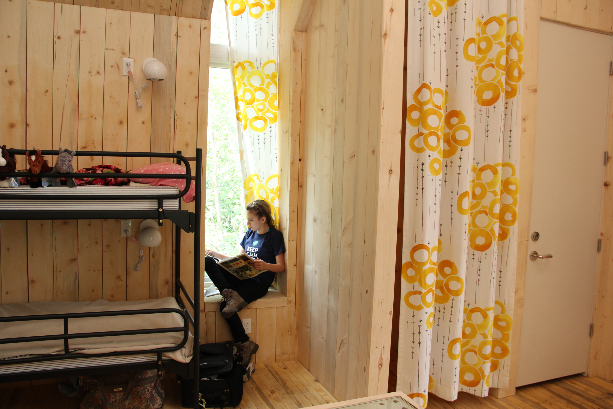 Cabins Built with Girl Power and Sustainable Timber -Trefoil Ranch Girl Scout Camp, Provo Canyon