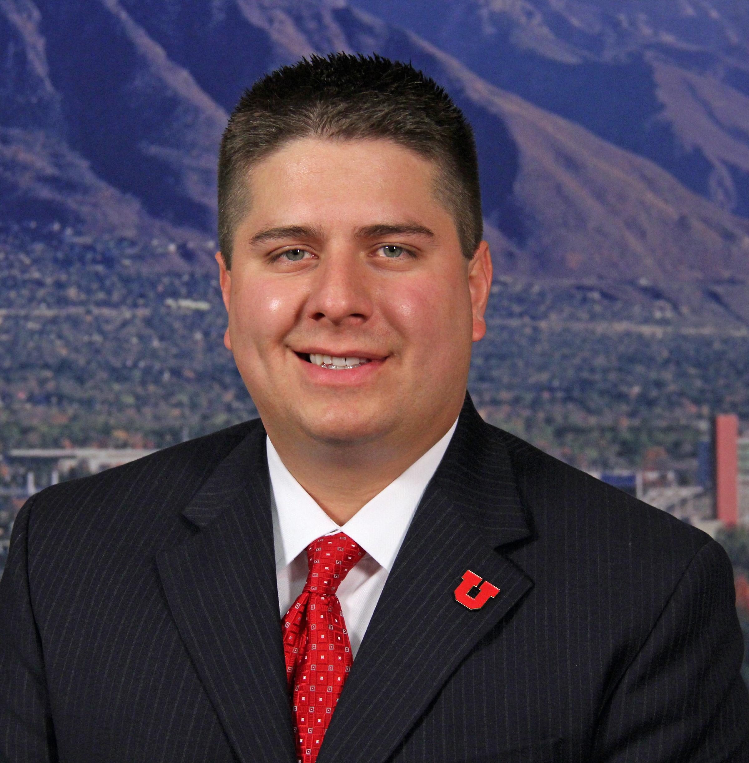 New University of Utah Director of Admission, Matthew R. López.