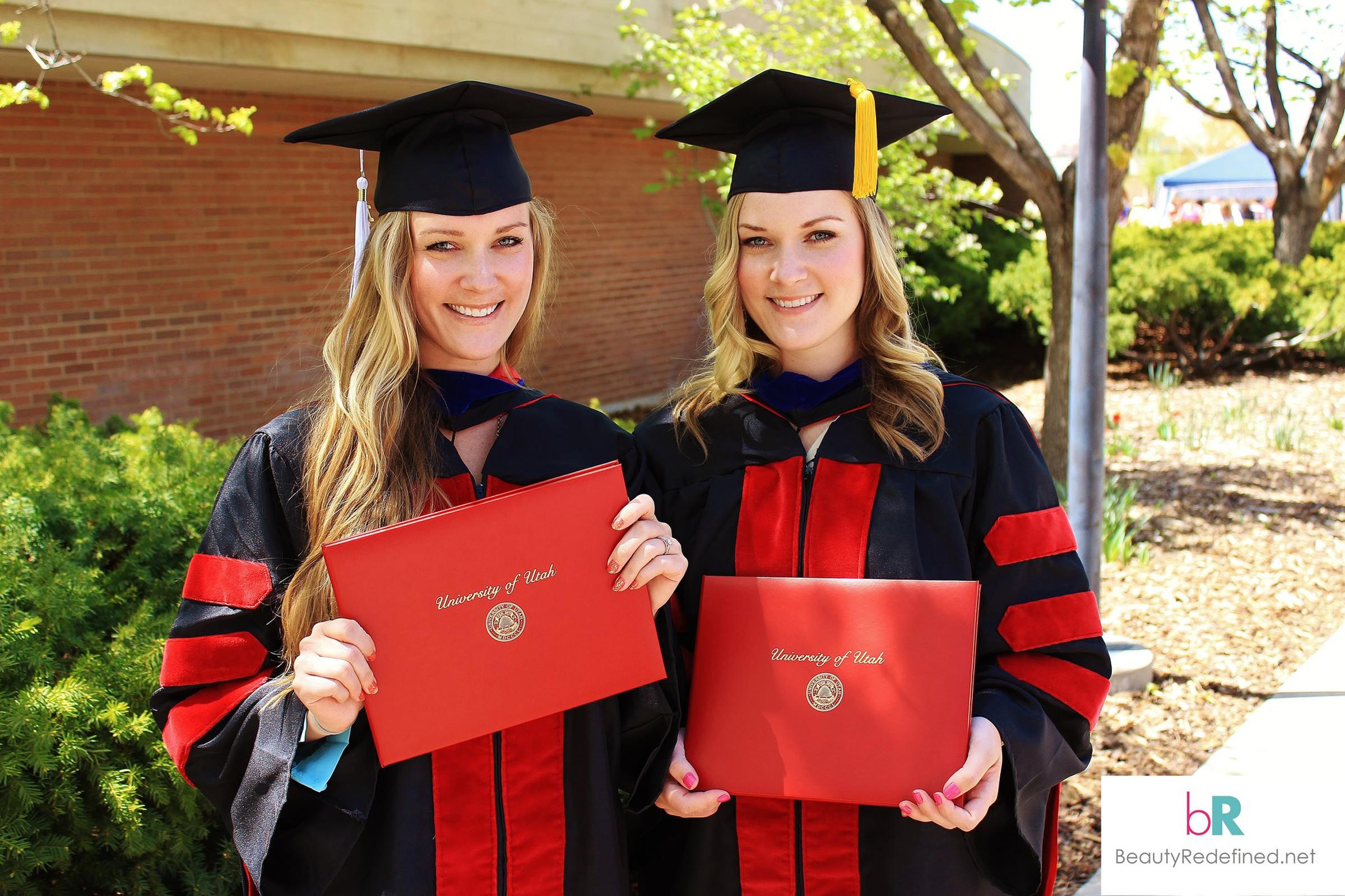 Lexie and Lindsay Kite Graduation, 2013.