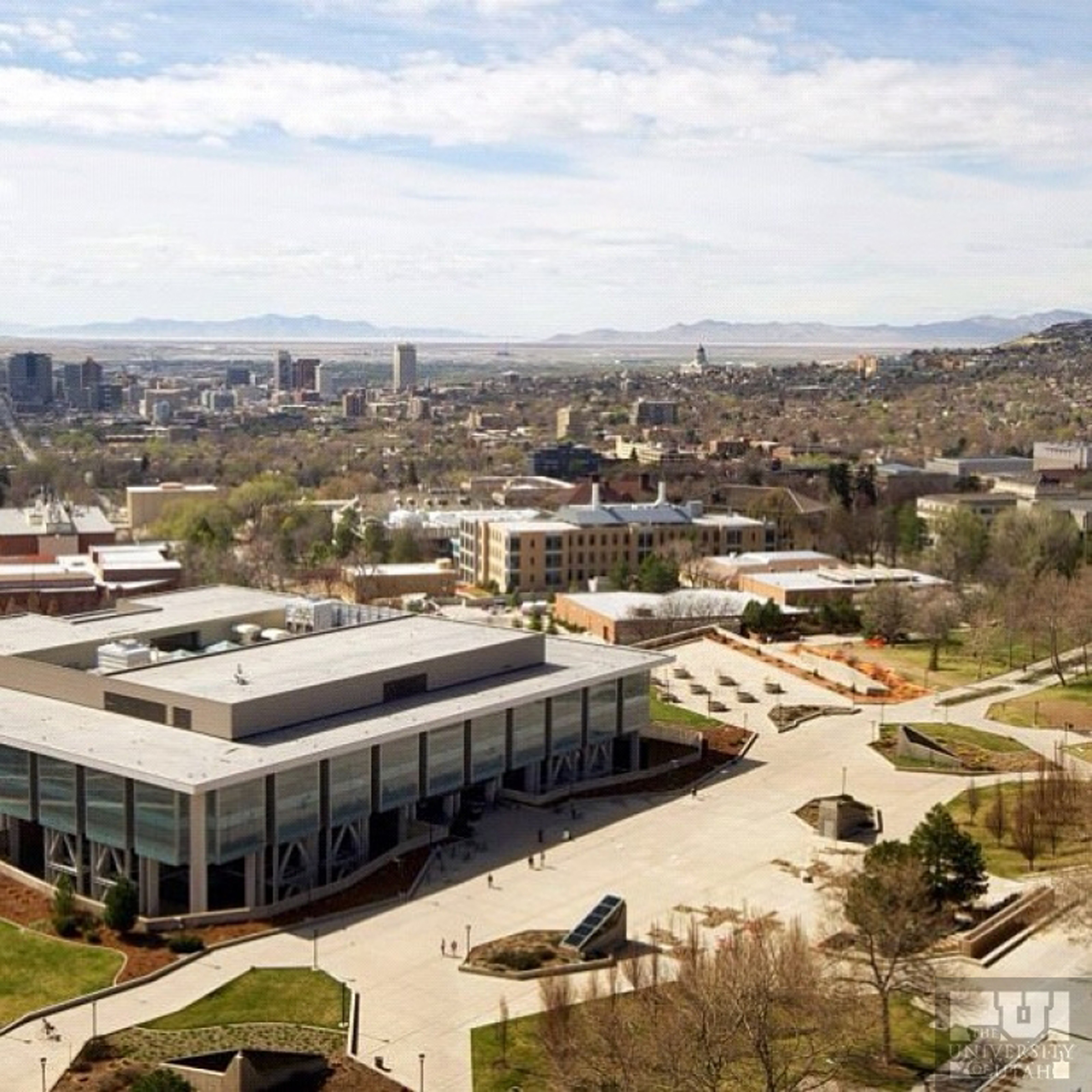 University of Utah Marriott Plaza and Salt Lake City.