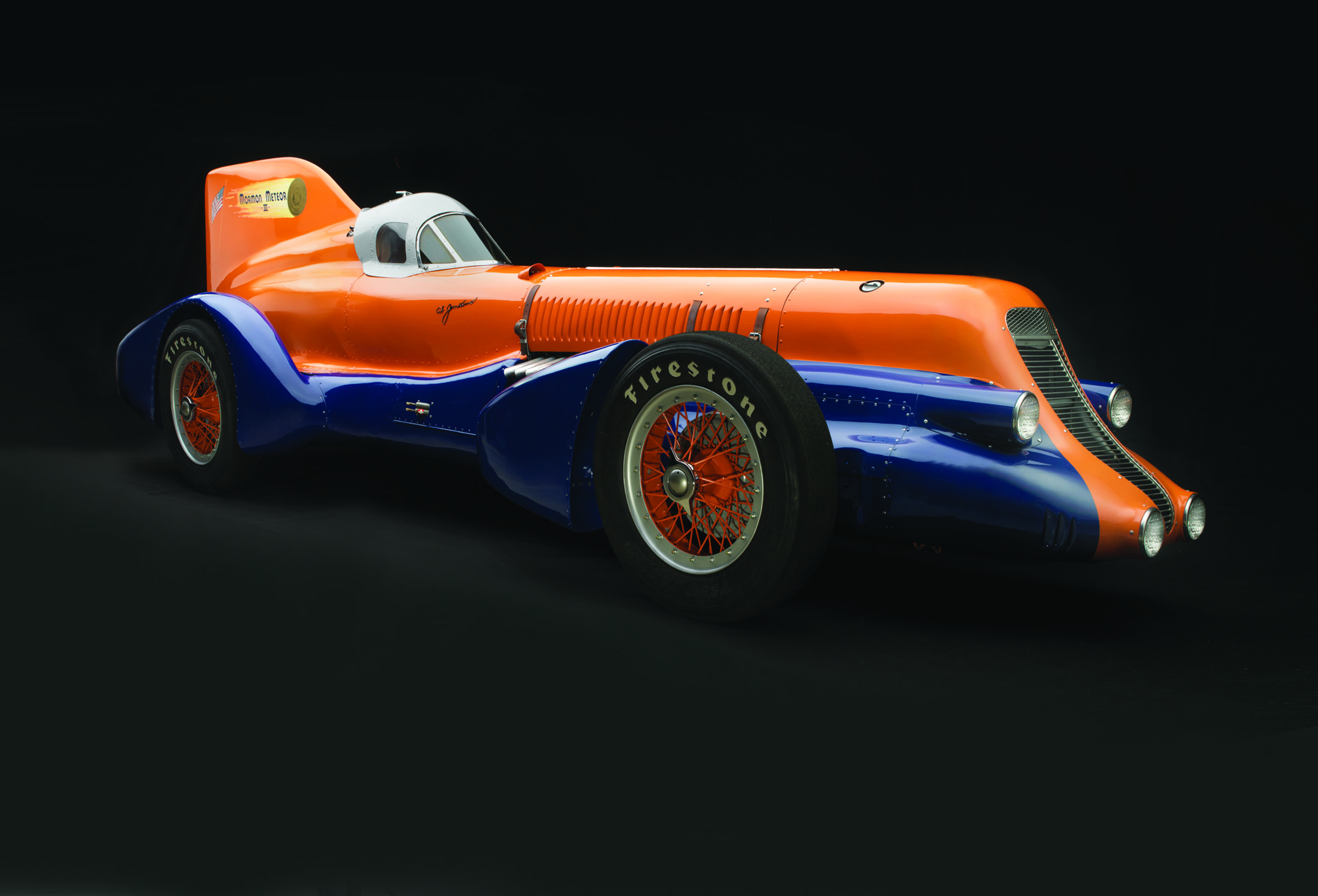 One of the cars on display at Speed: The Art of the Performance Automobile.