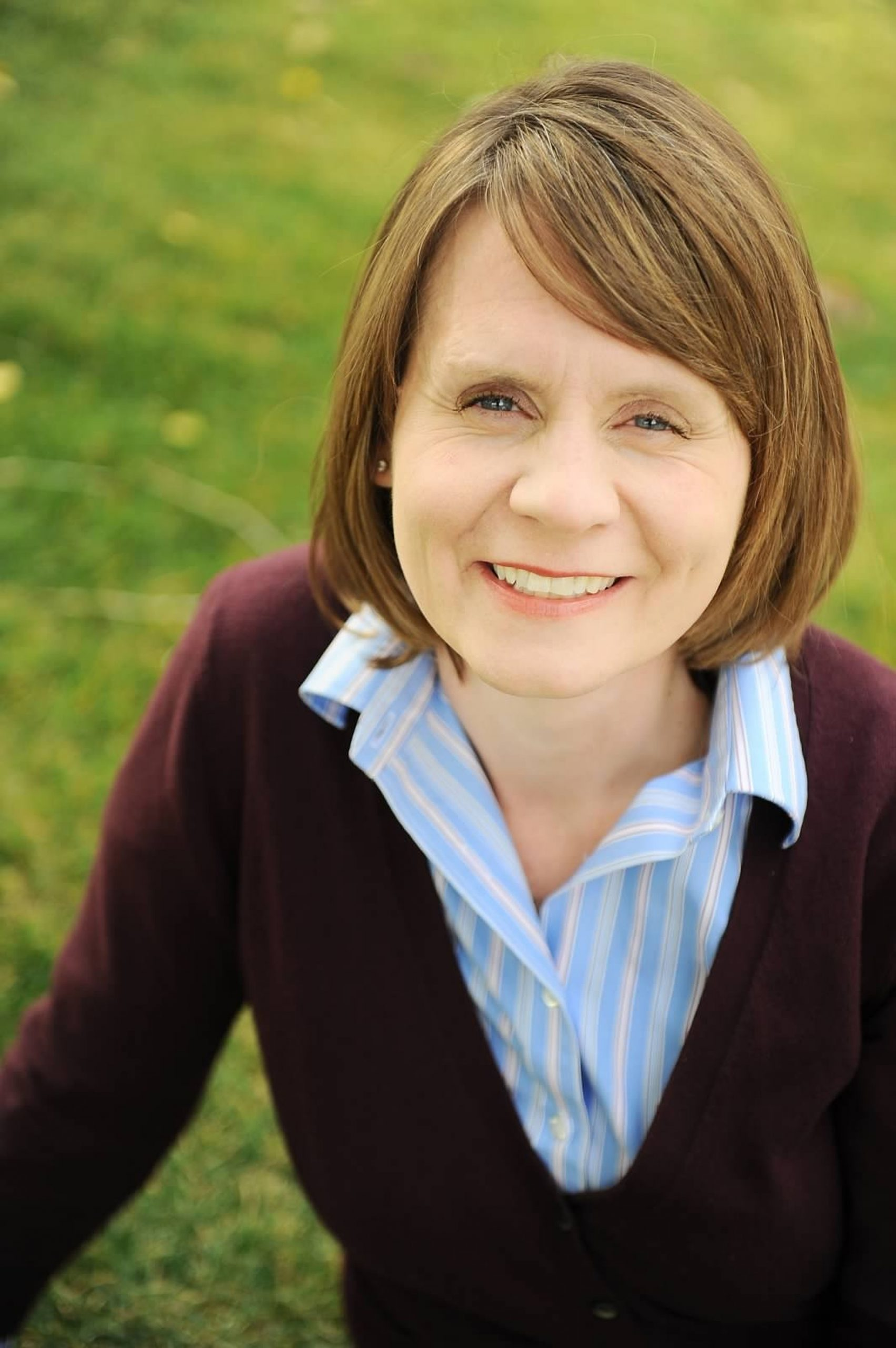 New University of Utah Communications Director, Maria O'Mara.