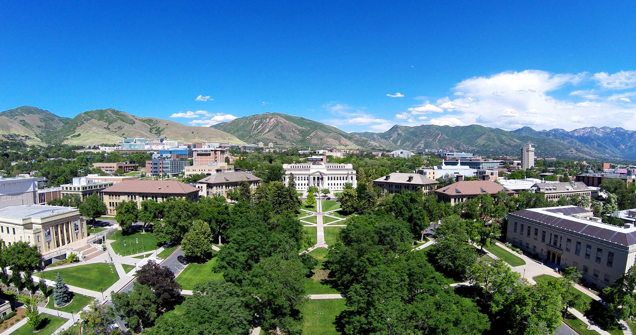 With more than 8,000 trees on campus, the University of Utah is home to the State Arboretum of Utah and recently received Tree Campus USA recognition by the Arbor Day Foundation, which honors colleges and universities for effective urban forest management and for engaging staff and students in conservation goals.