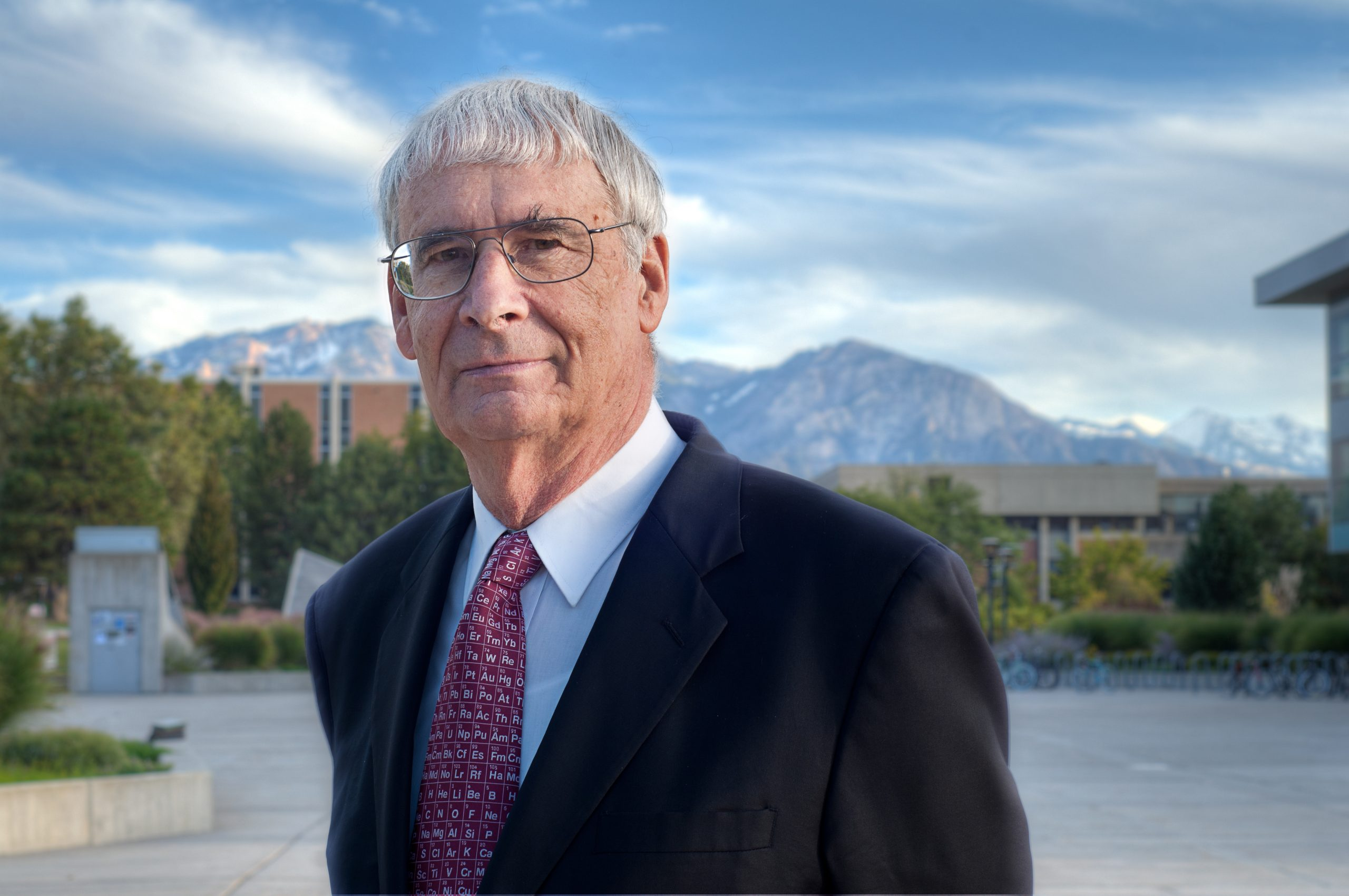 Peter Stang, distinguished professor of chemistry and winner of the National Medal of Science