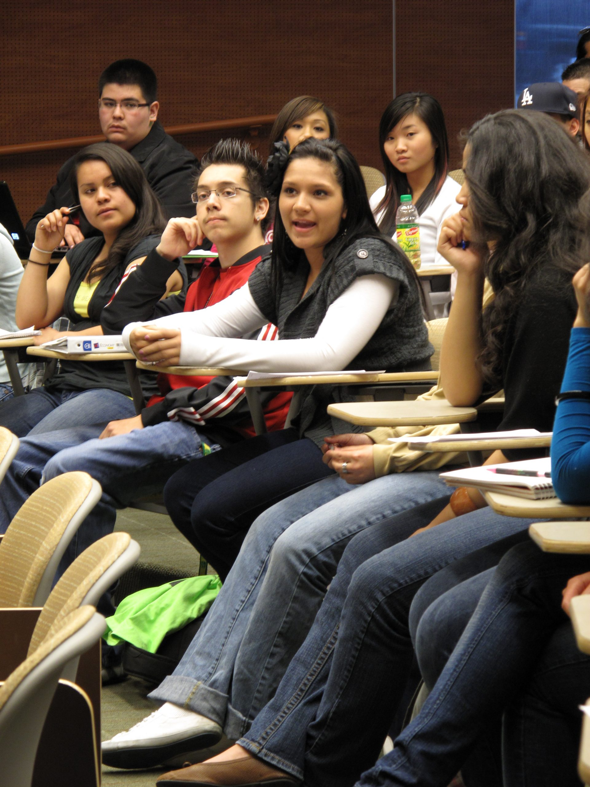 Students engage in discussion during a class in the University of Utah's ethnic studies program. The Utah State Board of Regents has approved expansion of the program to become a major.