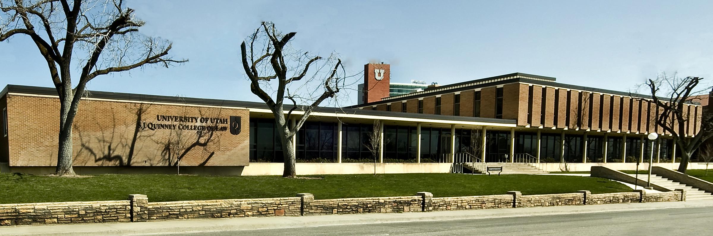 S.J. Quinney Law building.