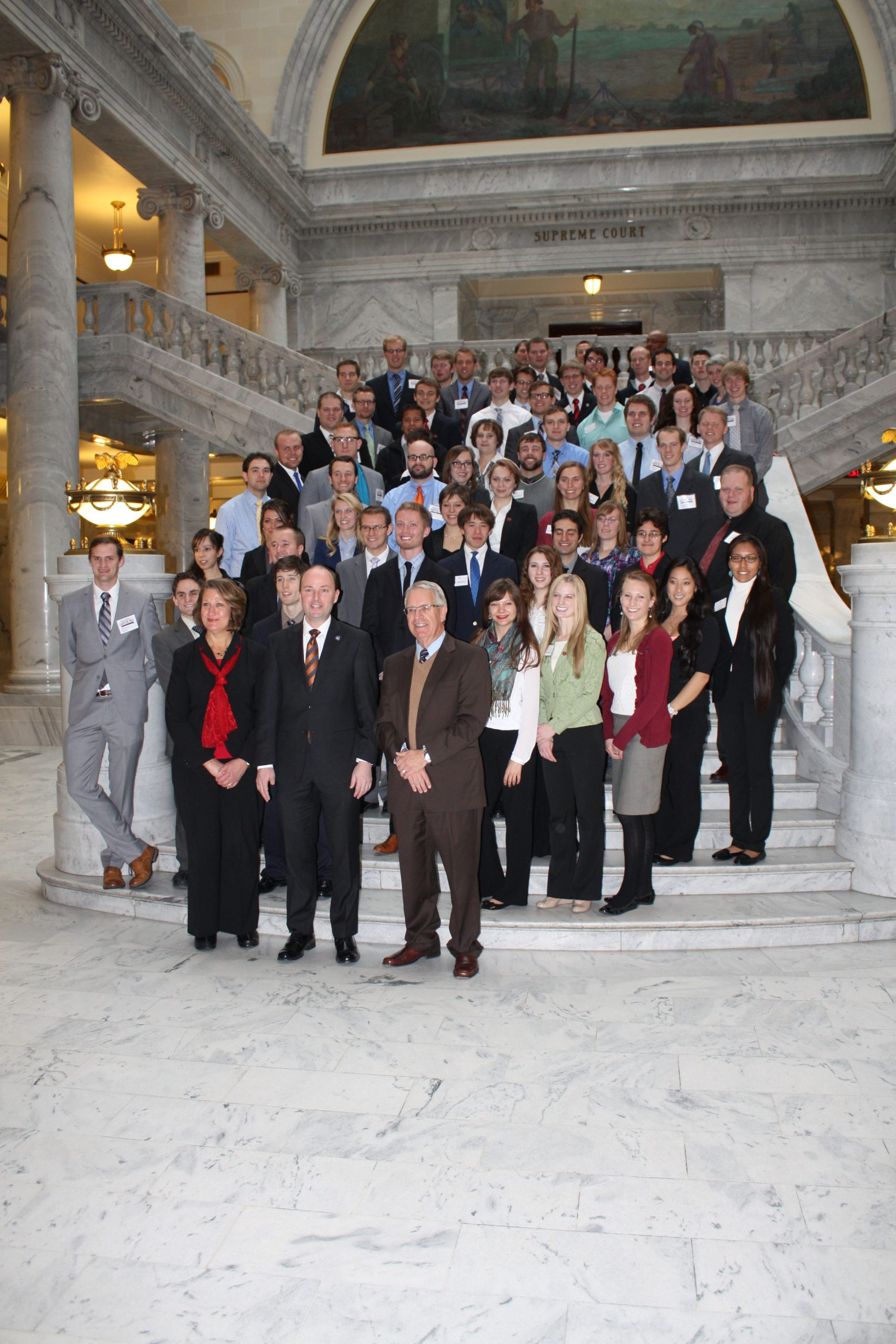 2014 participants from the University of Utah and Utah State University at Research Posters on the Hill