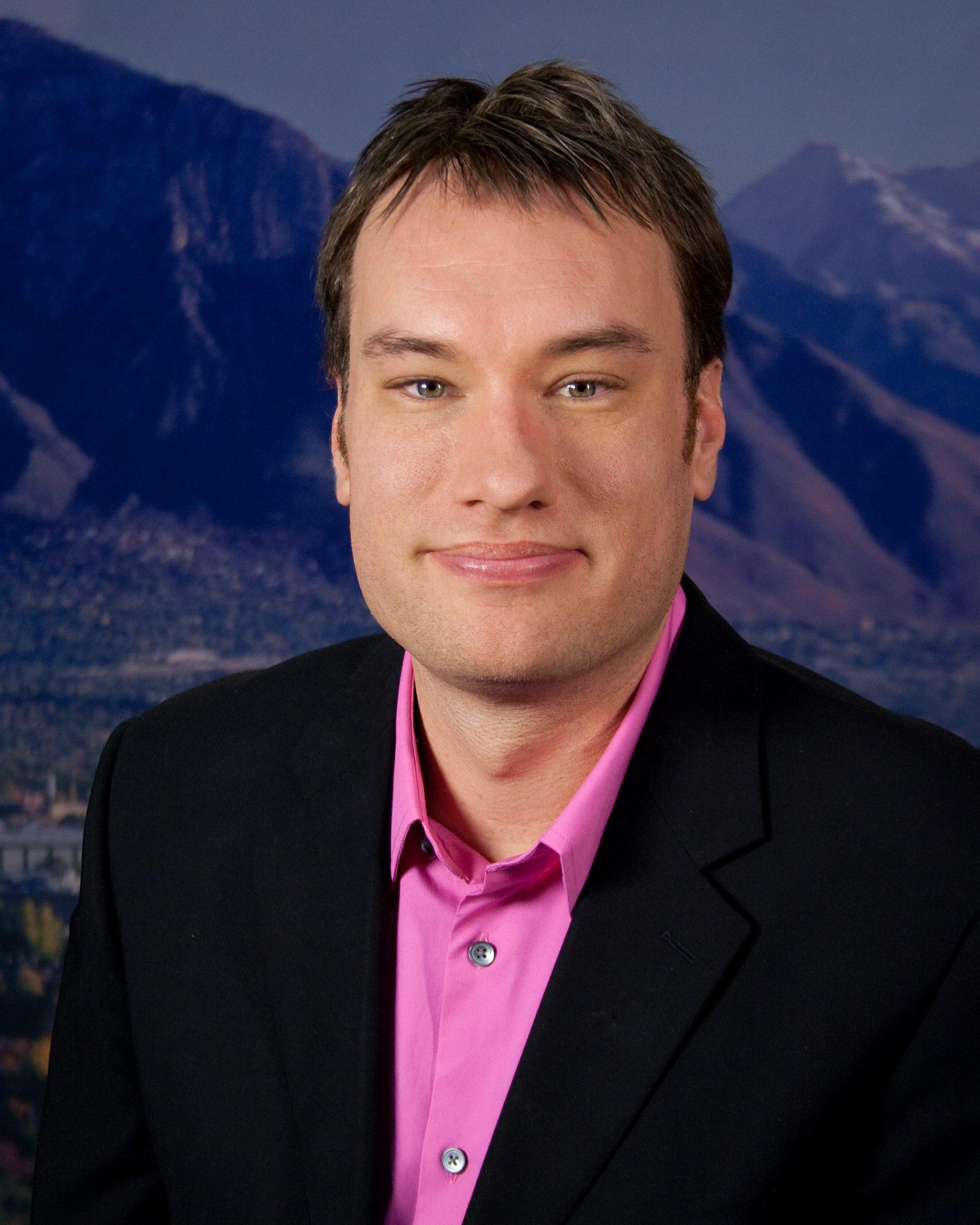 New University of Utah Communications Director, Keith Sterling.
