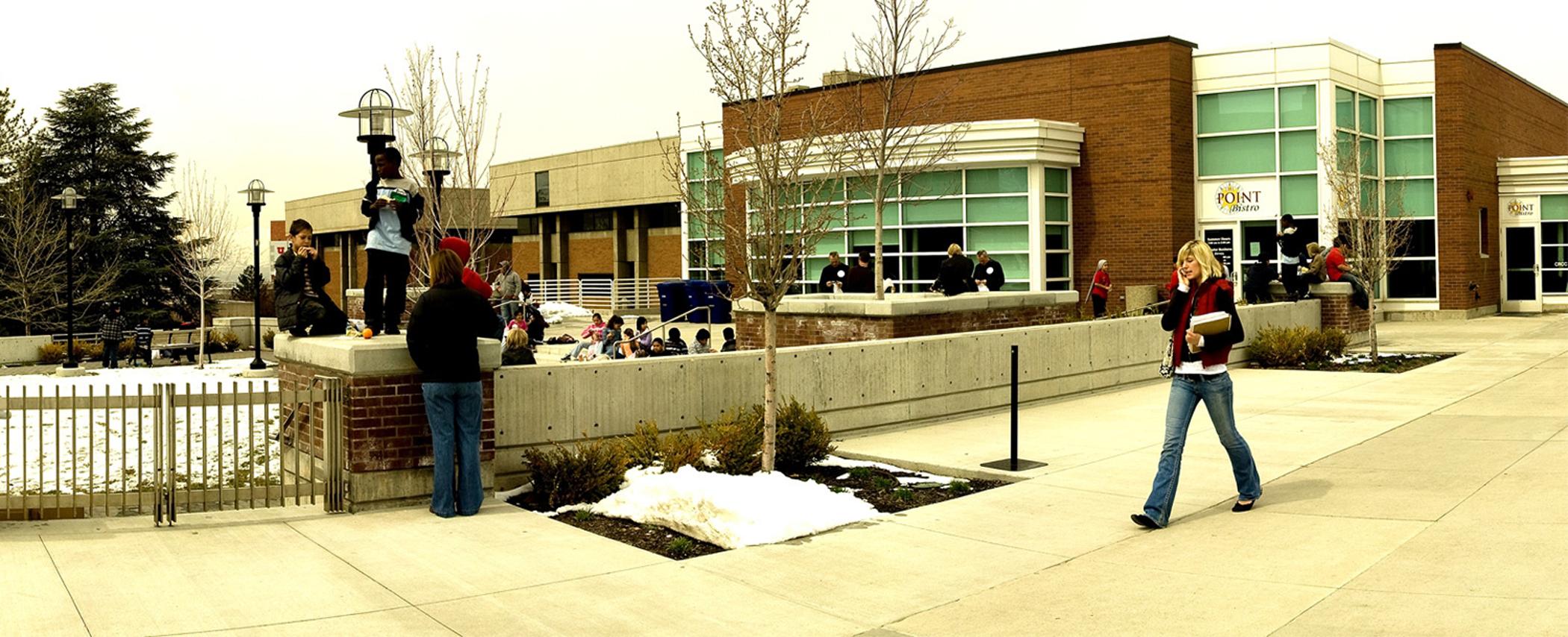 David Eccles School of Business exterior.