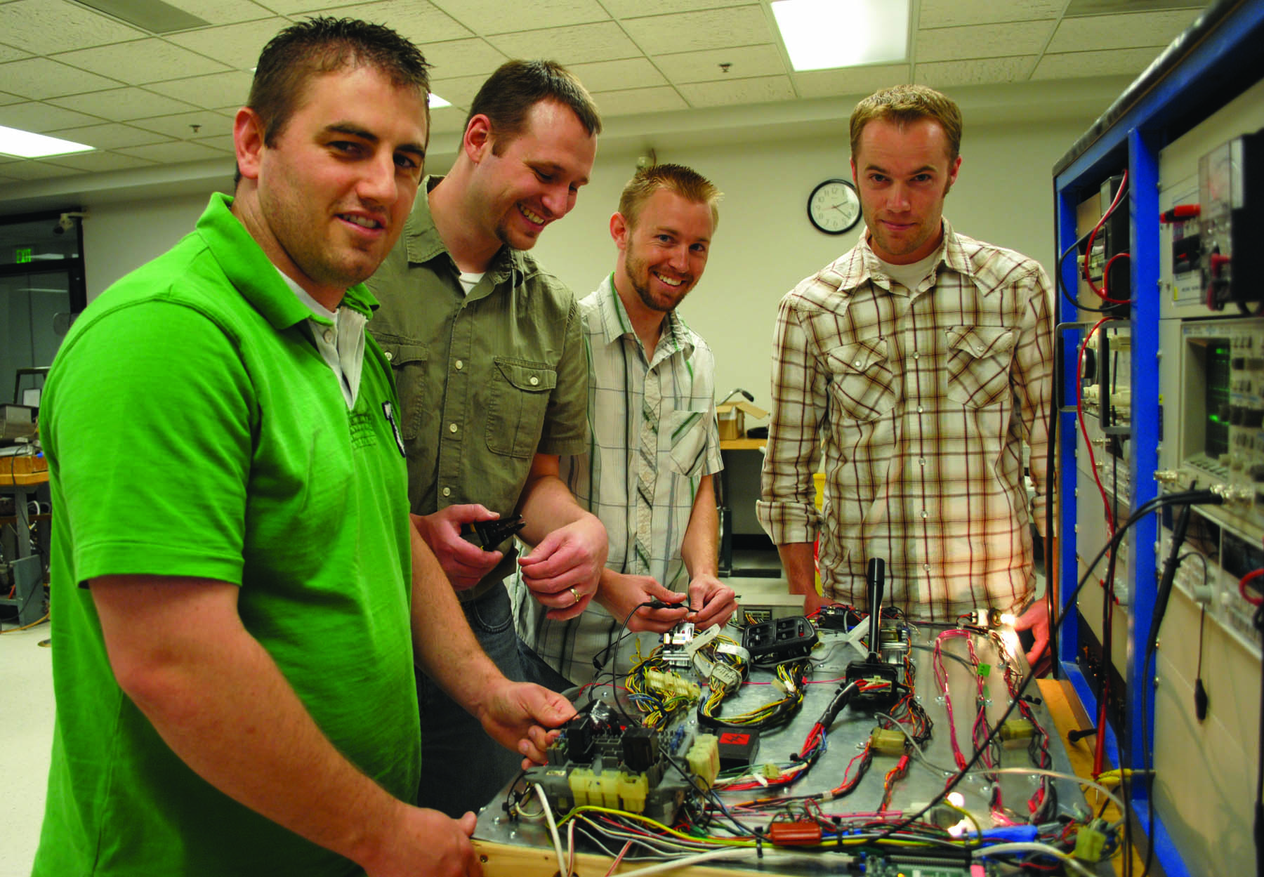 Short Solutions is one of the companies started at the University of Utah in fiscal year 2010. Pictured is the student team behind the company.