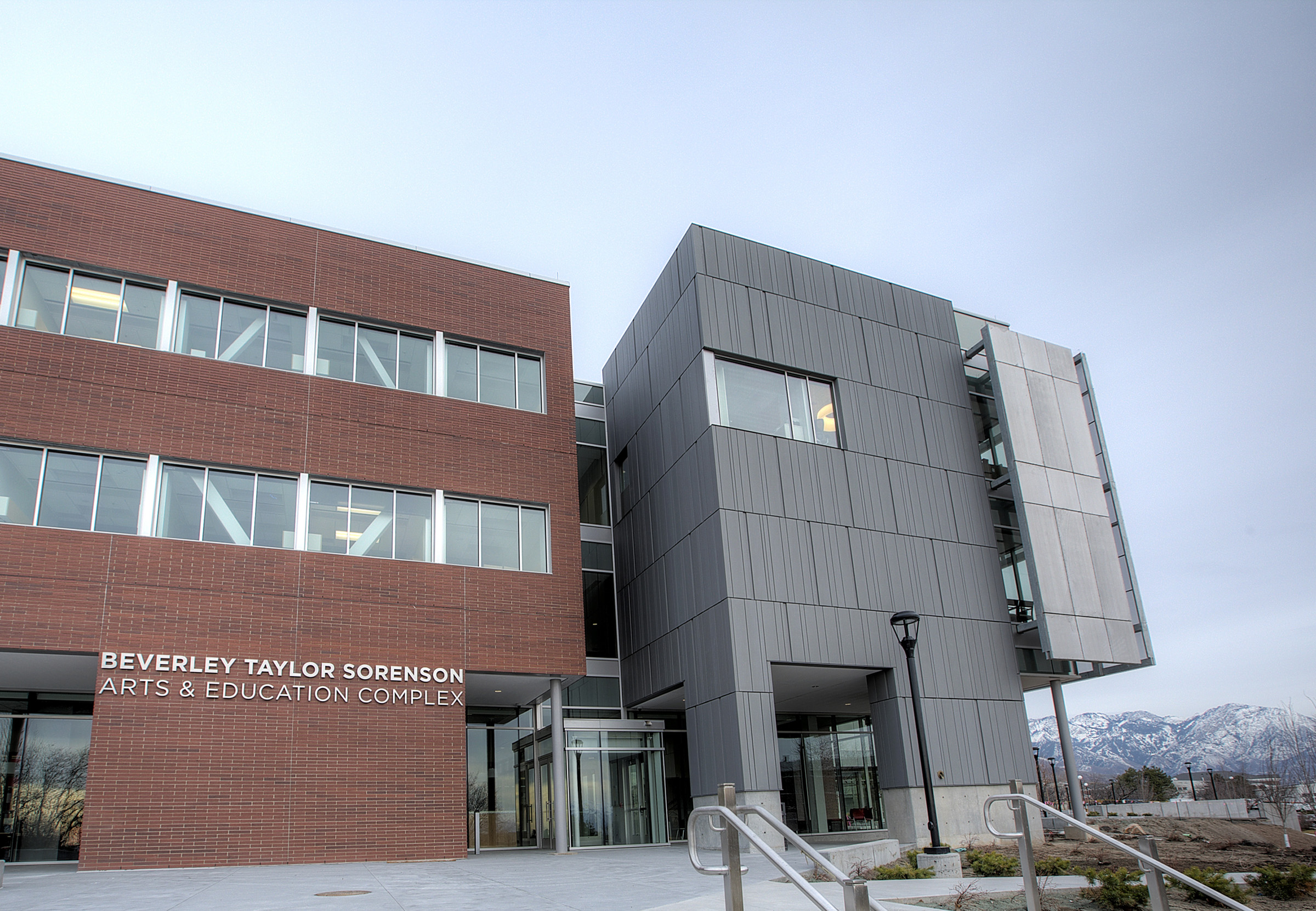 The University of Utah's new Beverley Taylor Sorenson Arts and Education Complex was dedicated Thursday, Feb. 27, and was made possible by a leading $12.5 million donation from the Sorenson Legacy Foundation, the largest single donation in support of arts and education in university history.