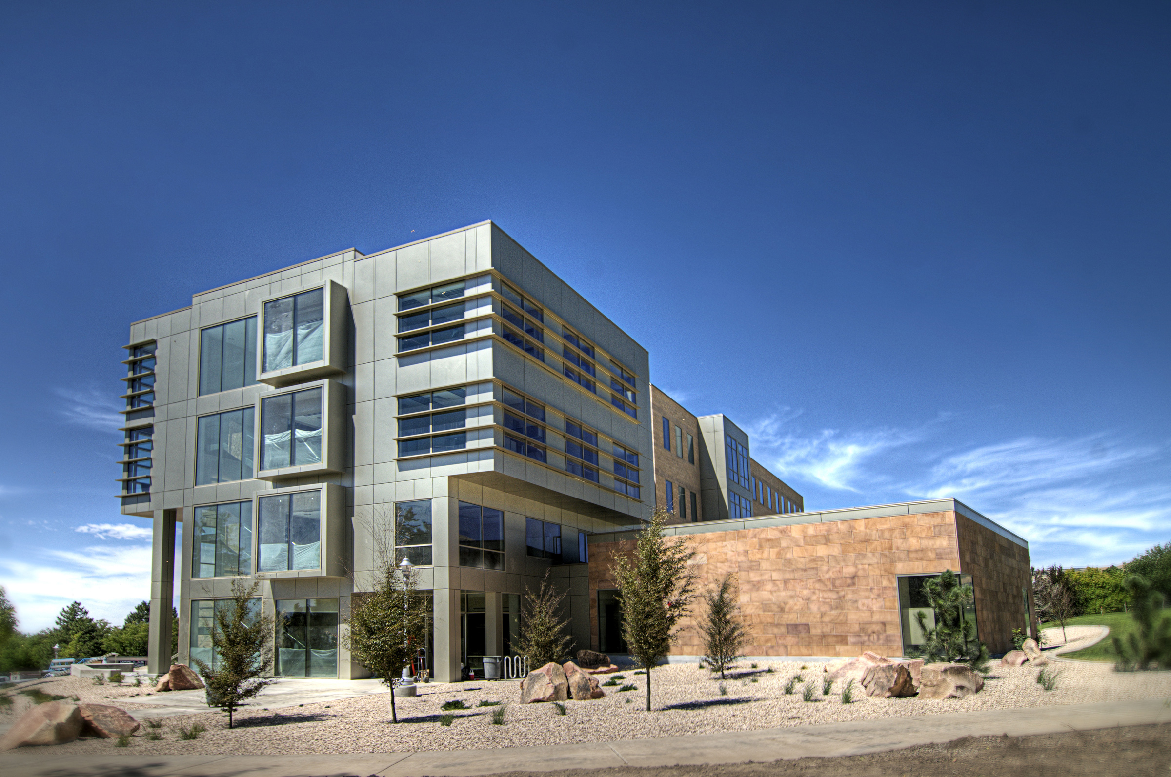 The Tanner Humanities building at the University of Utah, home to the new Second Language Teaching and Research Center.