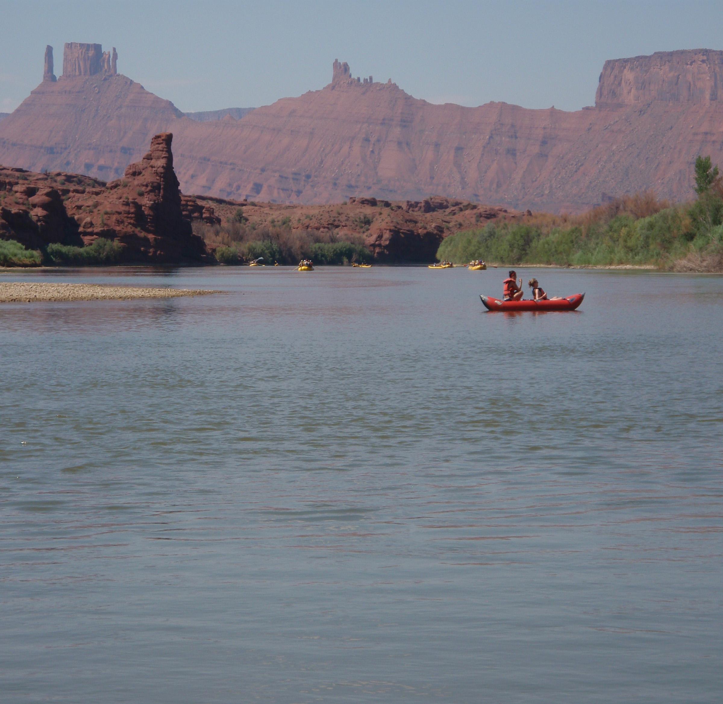 The Daily run, Colorado River.