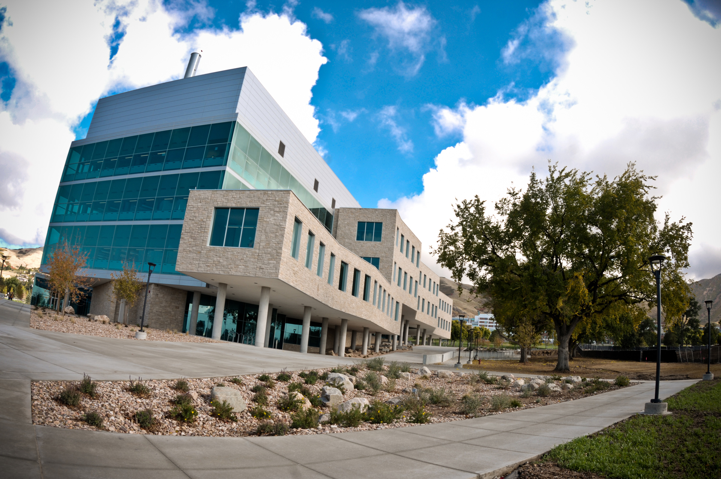 New USTAR building at the University of Utah