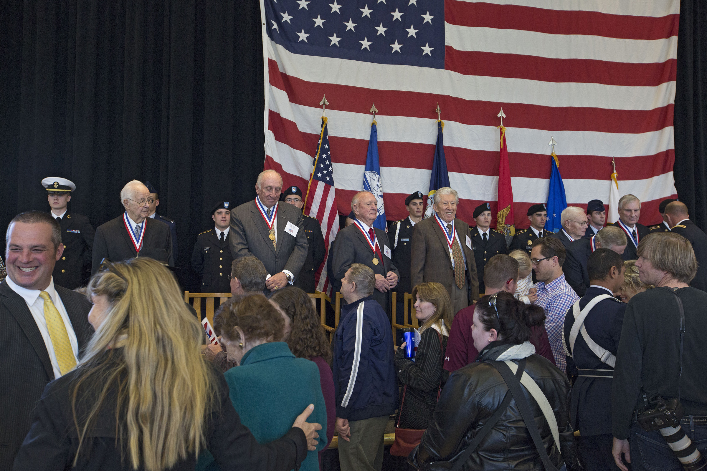 2013 Veterans Day Commemoration honorees.