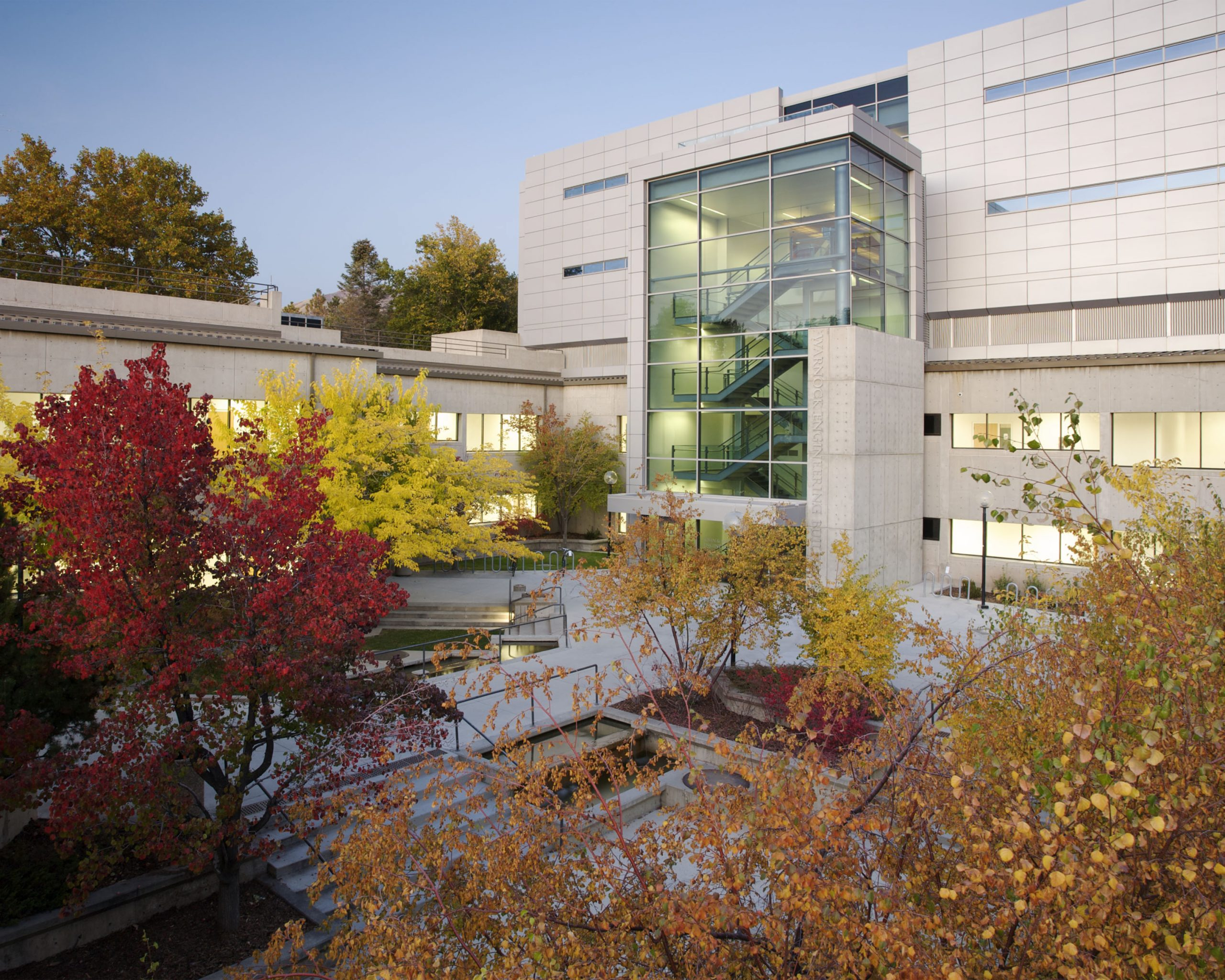 The Warnock Engineering Building, which houses the University of Utah School of Computing.