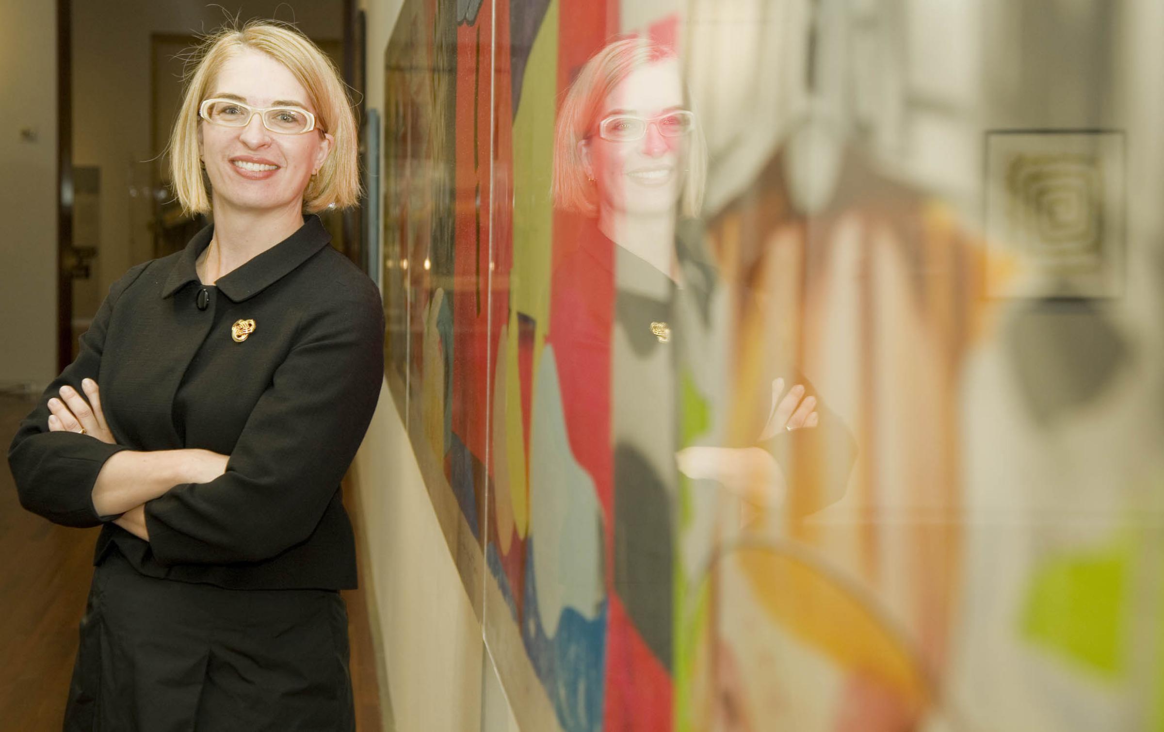 Utah Museum of Fine Arts Executive Director Gretchen Dietrich.