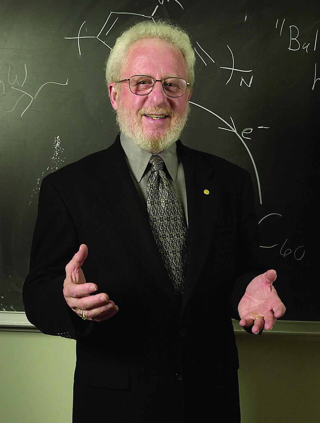 Alan J. Heeger, professor of physics, University of California, Santa Barbara