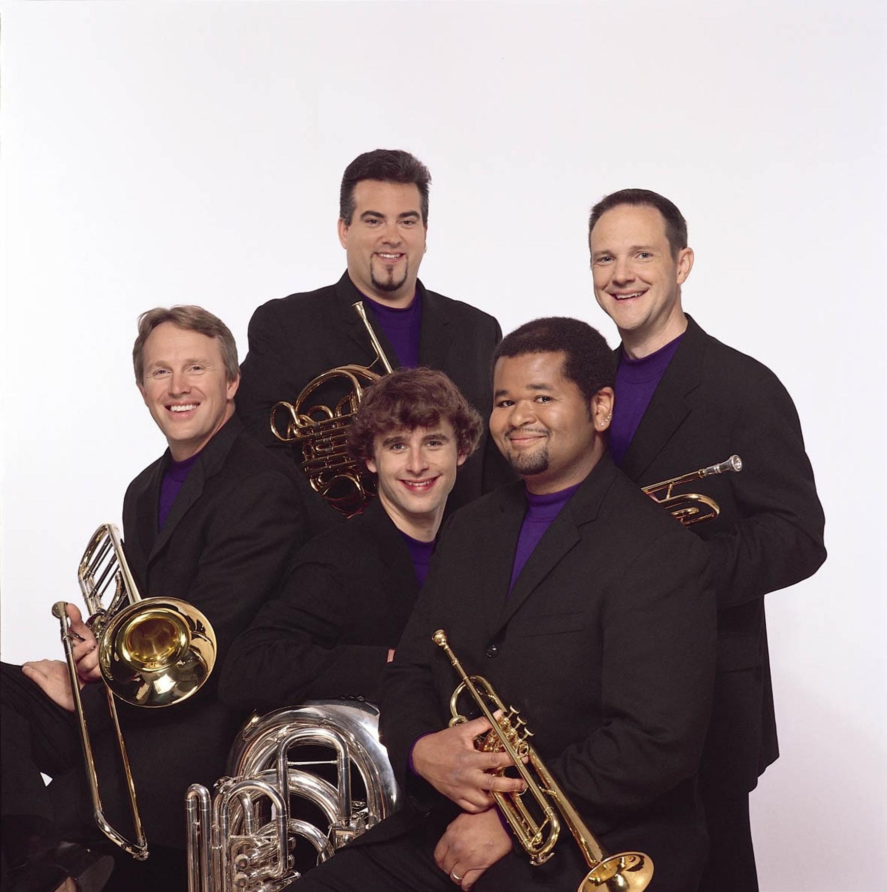 The Virtuoso Series welcomes the innovative Boston Brass, November 16 at 7:30 p.m., Libby Gardner Hall