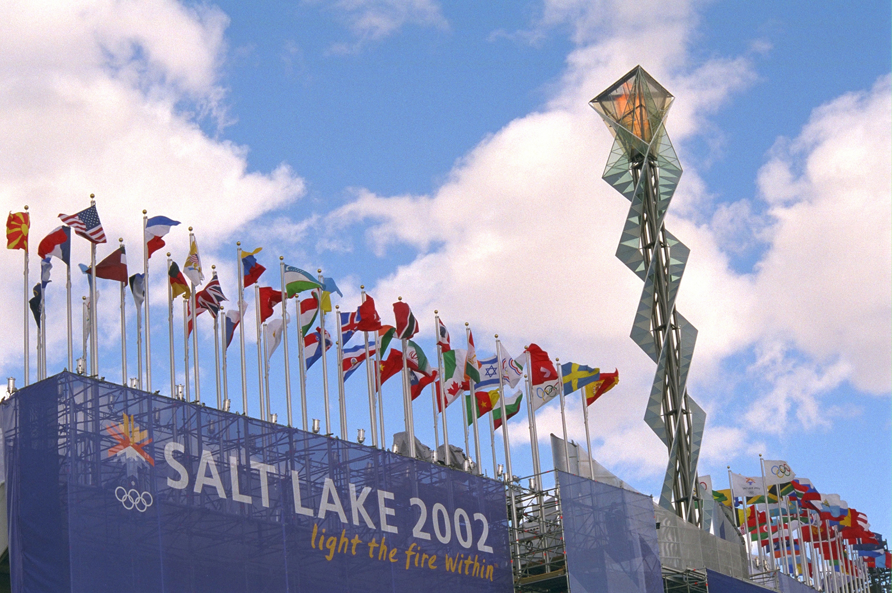 In recognition of the XX Olympic Winter Games, which begin in Torino, Italy, on Feb. 10, Utah?s own Olympic Cauldron will burn again during the evening hours of Feb. 10, 11 and 12.