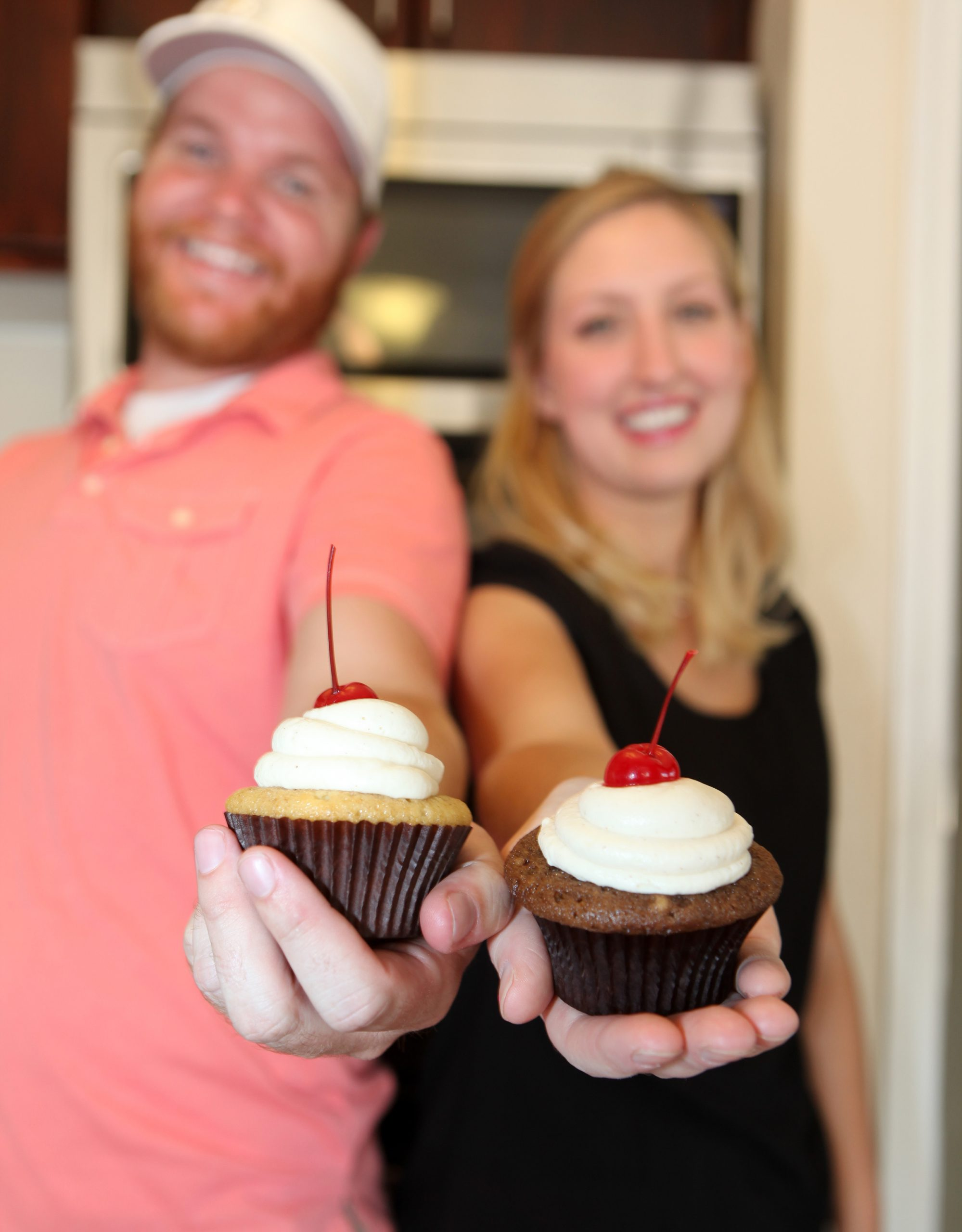 Erik and Cori Larsen launched a cupcake store in India featuring flavors such as coriander, anise and chicku.