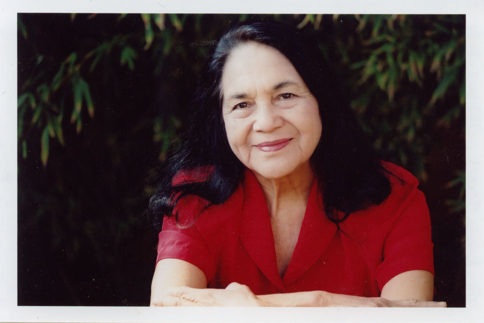 Dolores Huerta, co-founder and first vice-president of the United Farm Workers, will offer the keynote address at this year's Women's Week celebration.