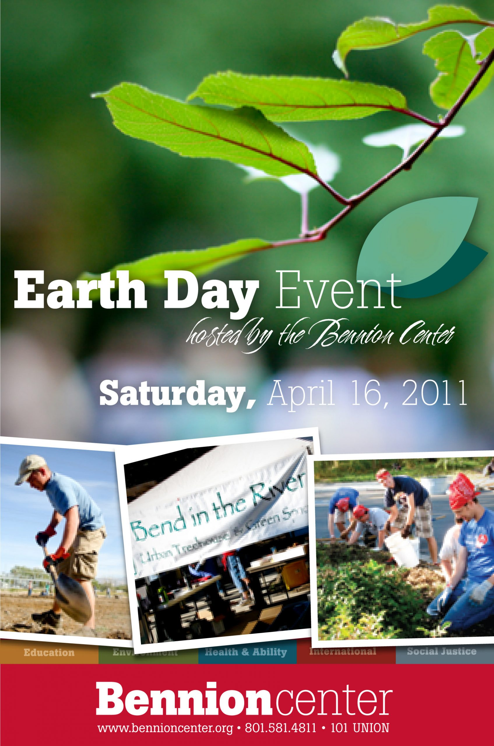 On Saturday, April 16 from 8:30 a.m. to 12:30 p.m., volunteers are asked to go to one of four service locations, where they will participate in a variety of environmentally-centered activities in honor of upcoming Earth Day. All events are free and open to the public. Pre-registration is not required, but it is encouraged.