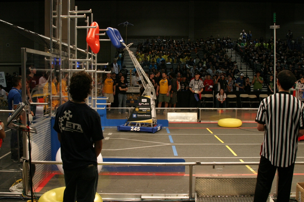 Approximately 1,000 high school students will compete April 7-9 in the regional For Inspiration and Recognition of Science and Technology (FIRST) Robotics Competition at the University of Utah's Huntsman Center. The competition will host students from Utah and surrounding states to maneuver robots they designed and built to compete on a playing field.