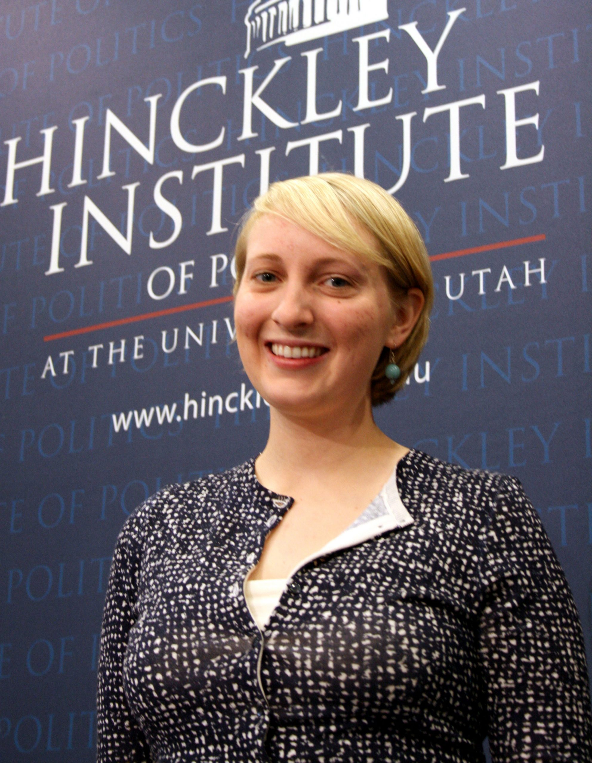 Ingrid Price, 2008 Harry S Truman Scholarship recipient.