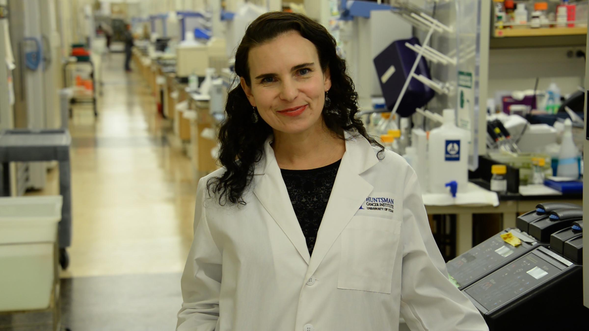 Jody Rosenblatt, Ph.D., associate professor of oncological sciences at the University of Utah School of Medicine and Huntsman Cancer Institute investigator.