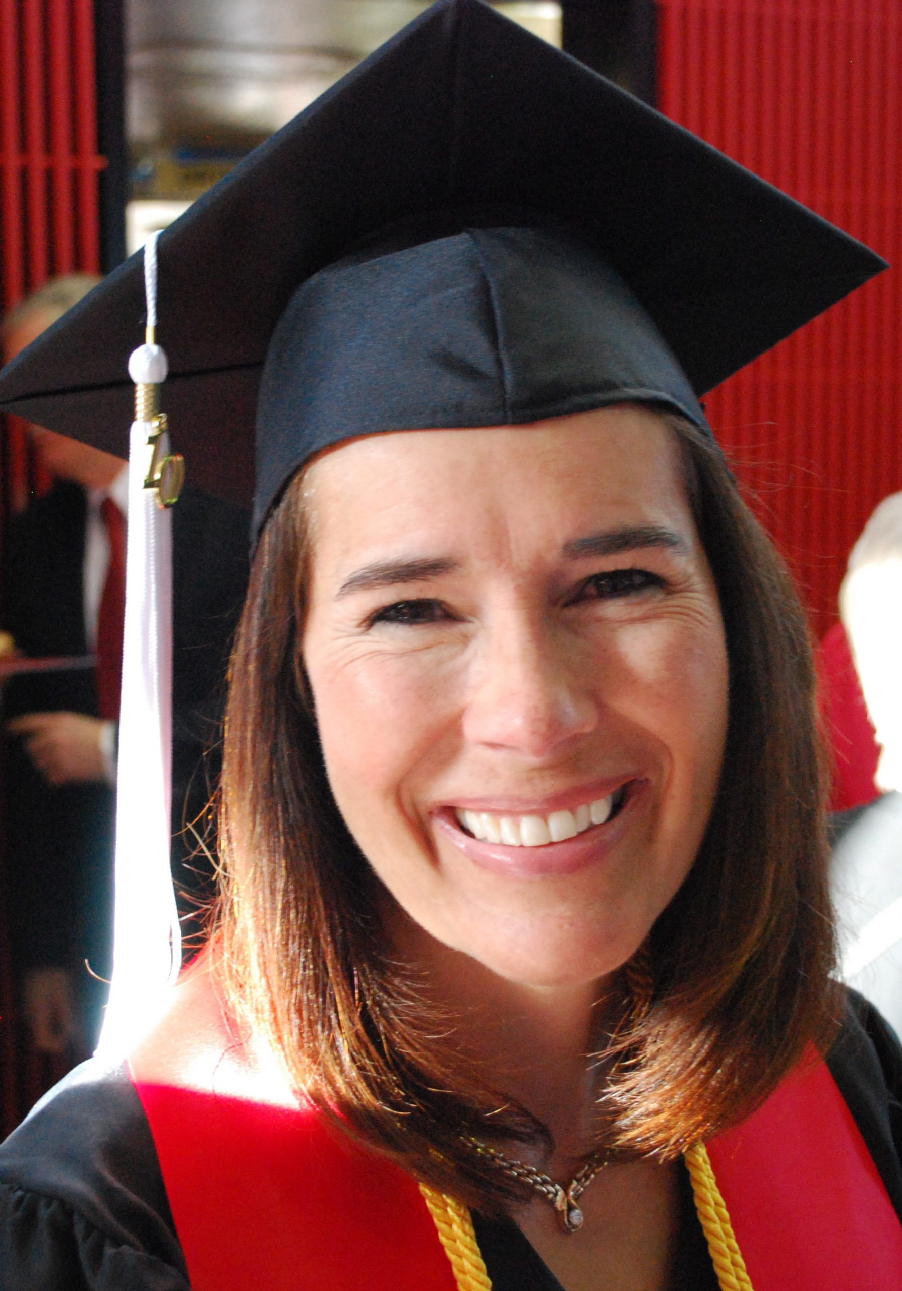 Student speakerJody Farley addressed the graduating class of 2010 at the U's commencement ceremonies on May 7.