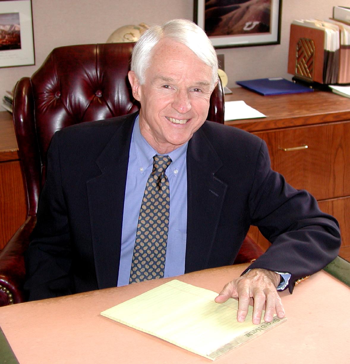 John Ashton, executive director of the University of Utah Alumni Association